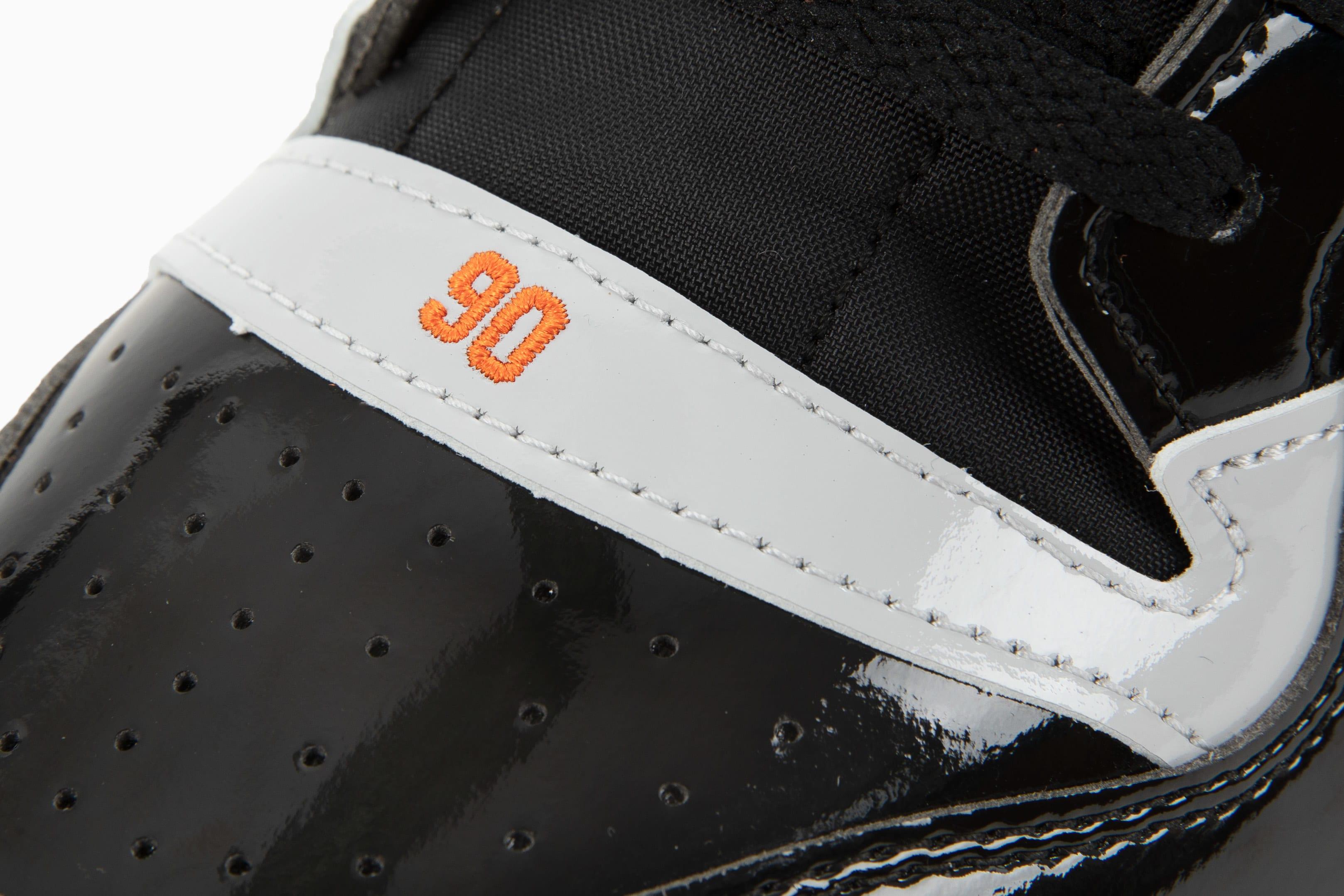 Snipes x Adidas Forum 'Detroit Bad Boys' GZ8375 Toe