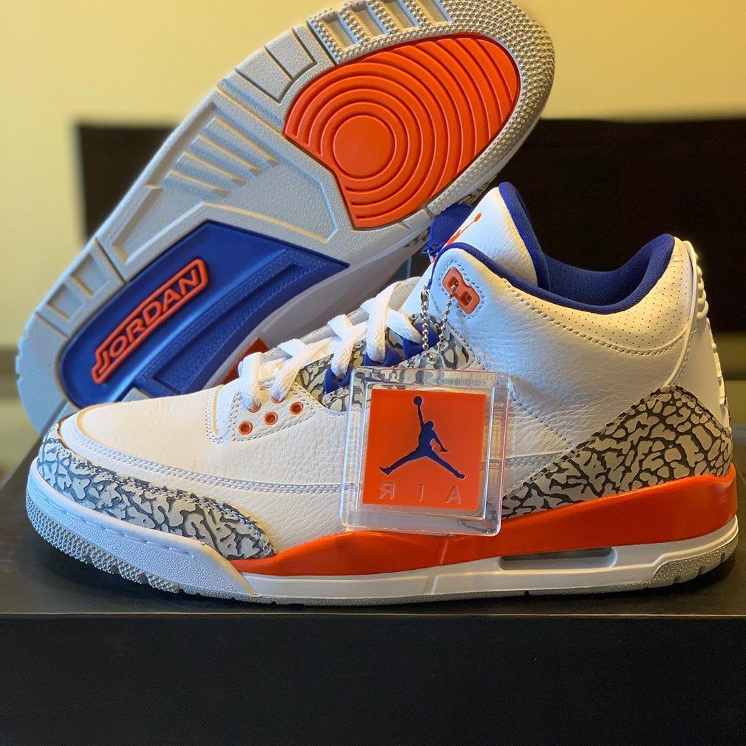 Air Jordan 3 'Knicks' (Bottom)