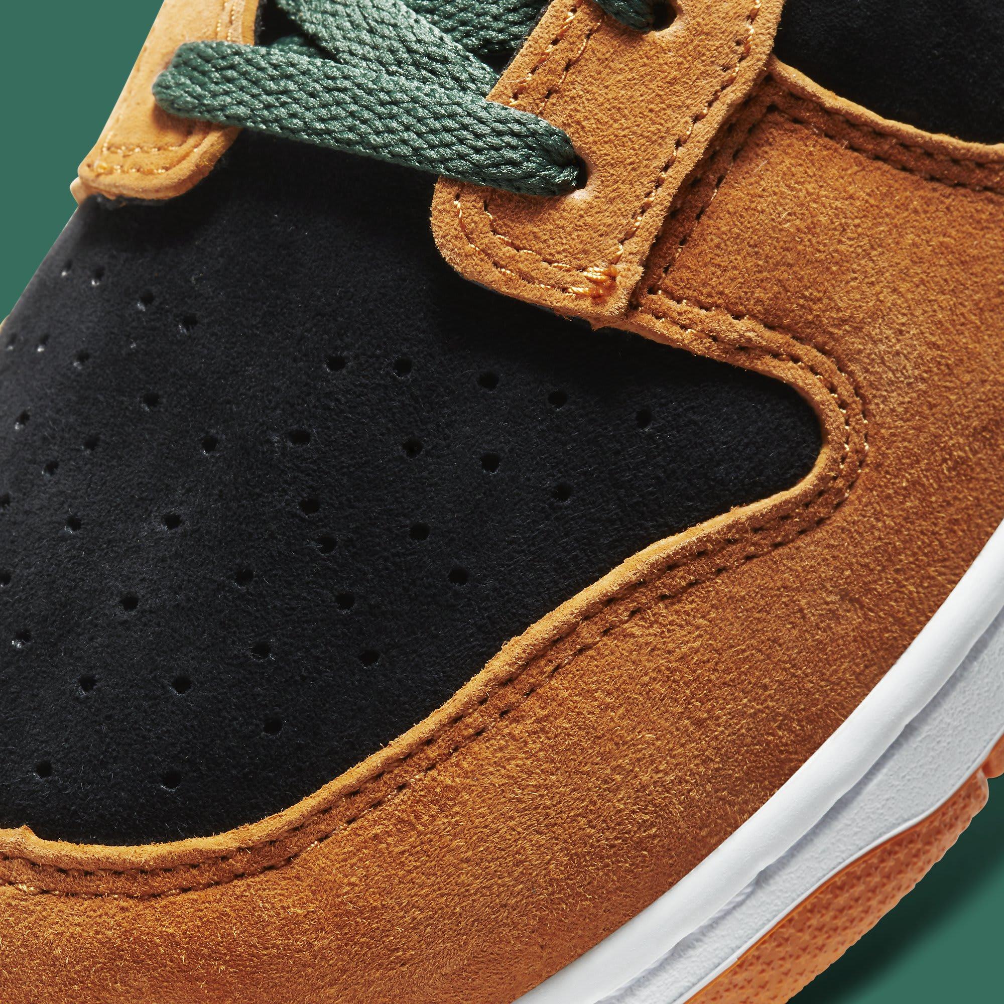 Nike Dunk Low Ceramic Release Date DA1469-001 Toe Detail