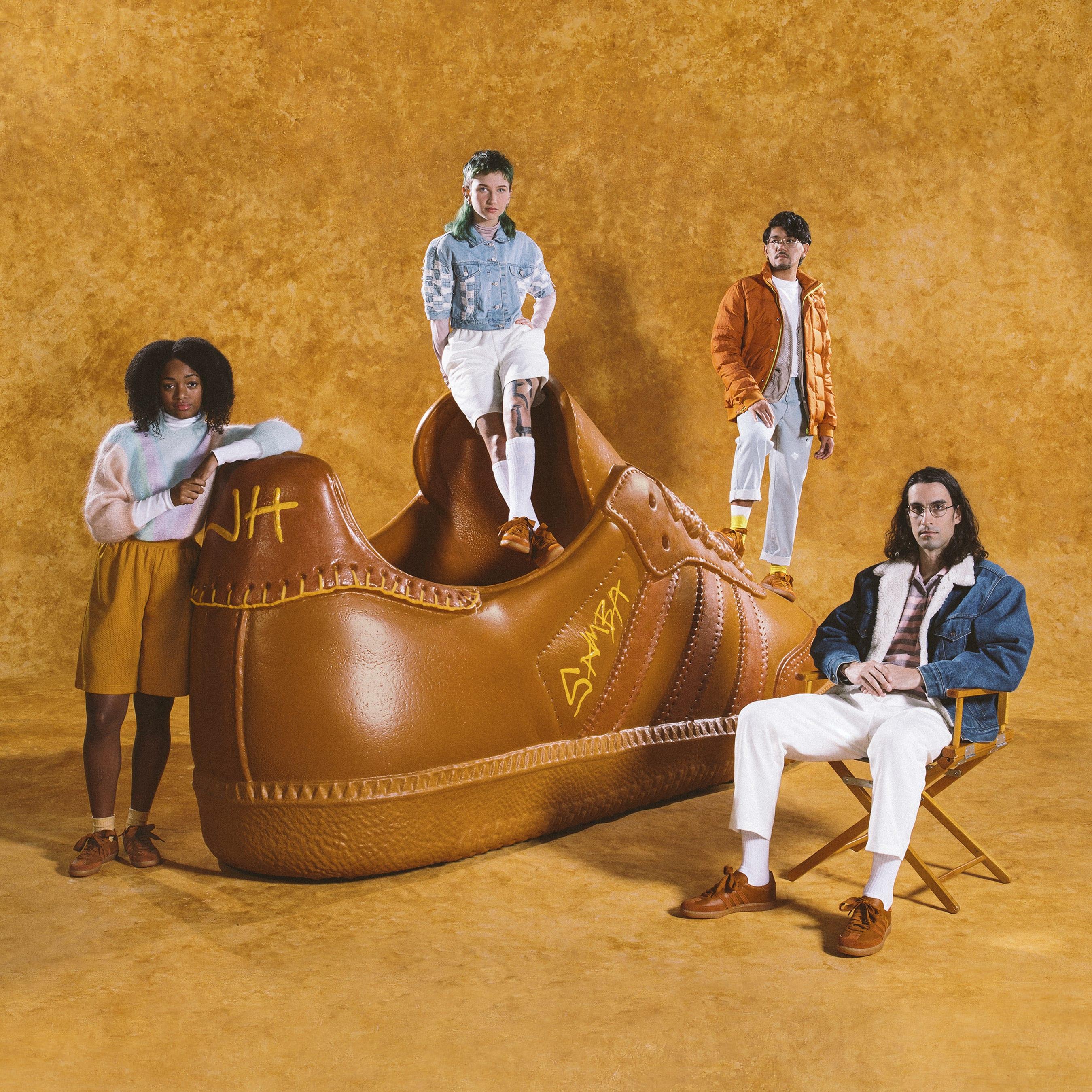Jonah Hill x Adidas Samba Ochre
