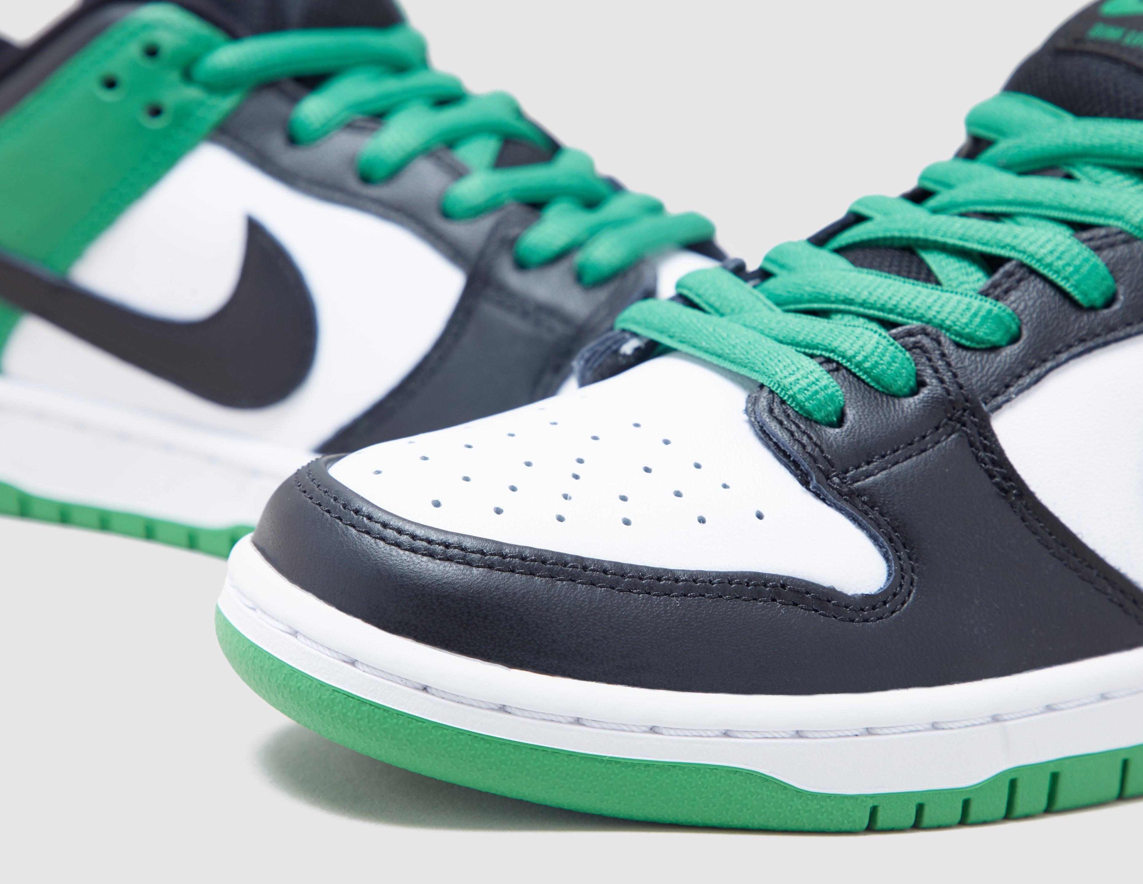 Nike SB Dunk Low 'Classic Green' BQ6817-302 Toe