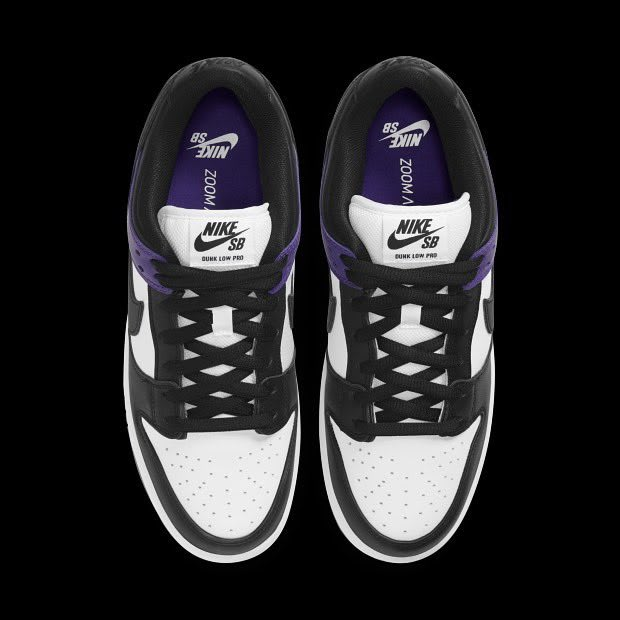 Nike SB Dunk Low Court Purple Release Date BQ6817-500 Top