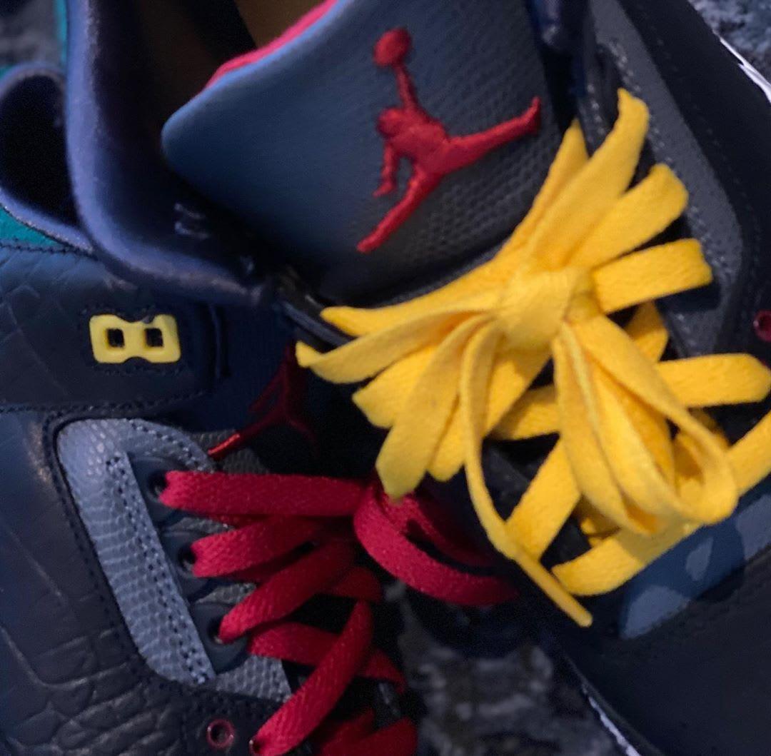 Air Jordan 3 Animal Instinct 2.0 Release Date cK4344-001 Laces