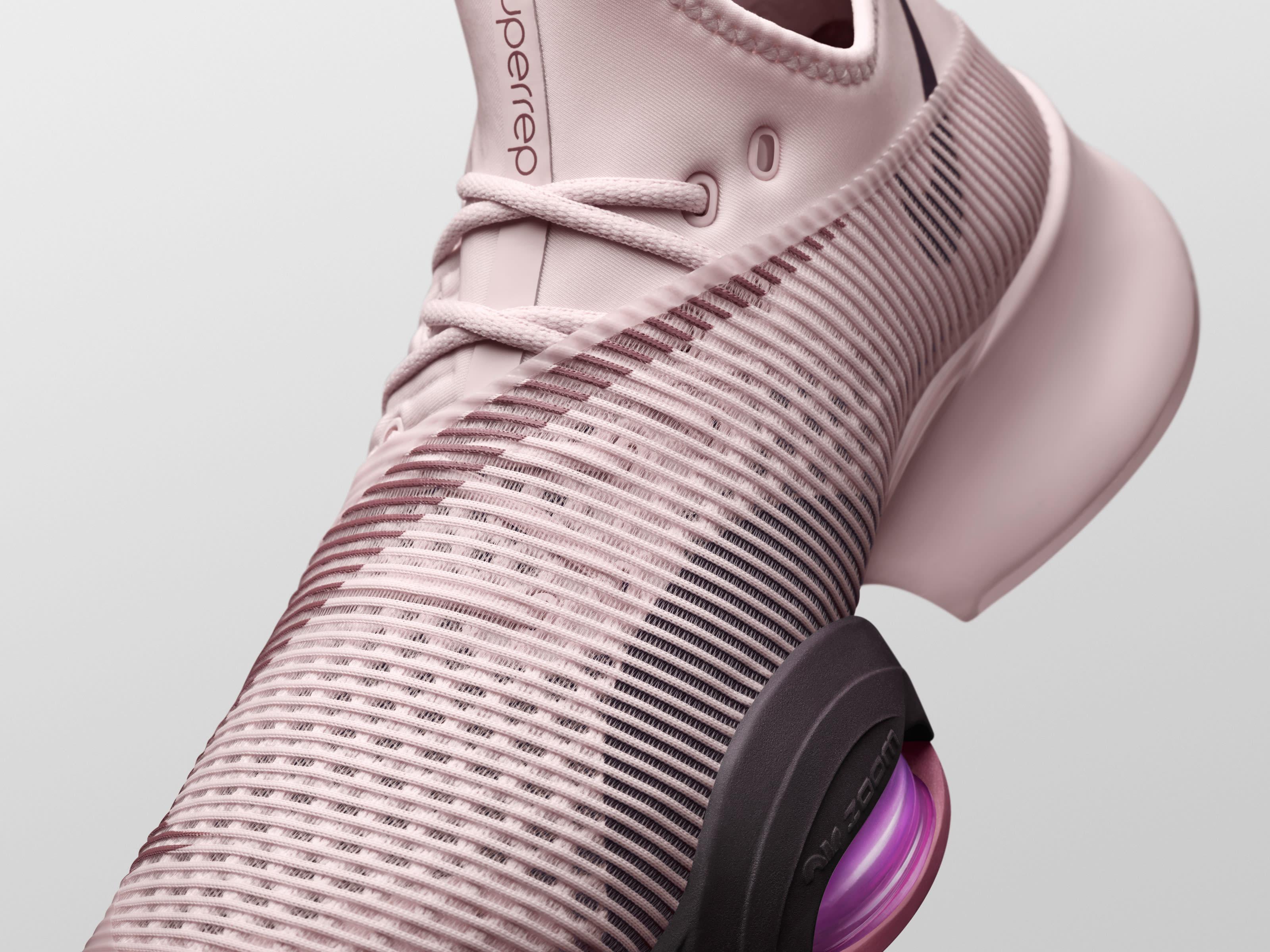 Nike SuperRed Pink Mesh