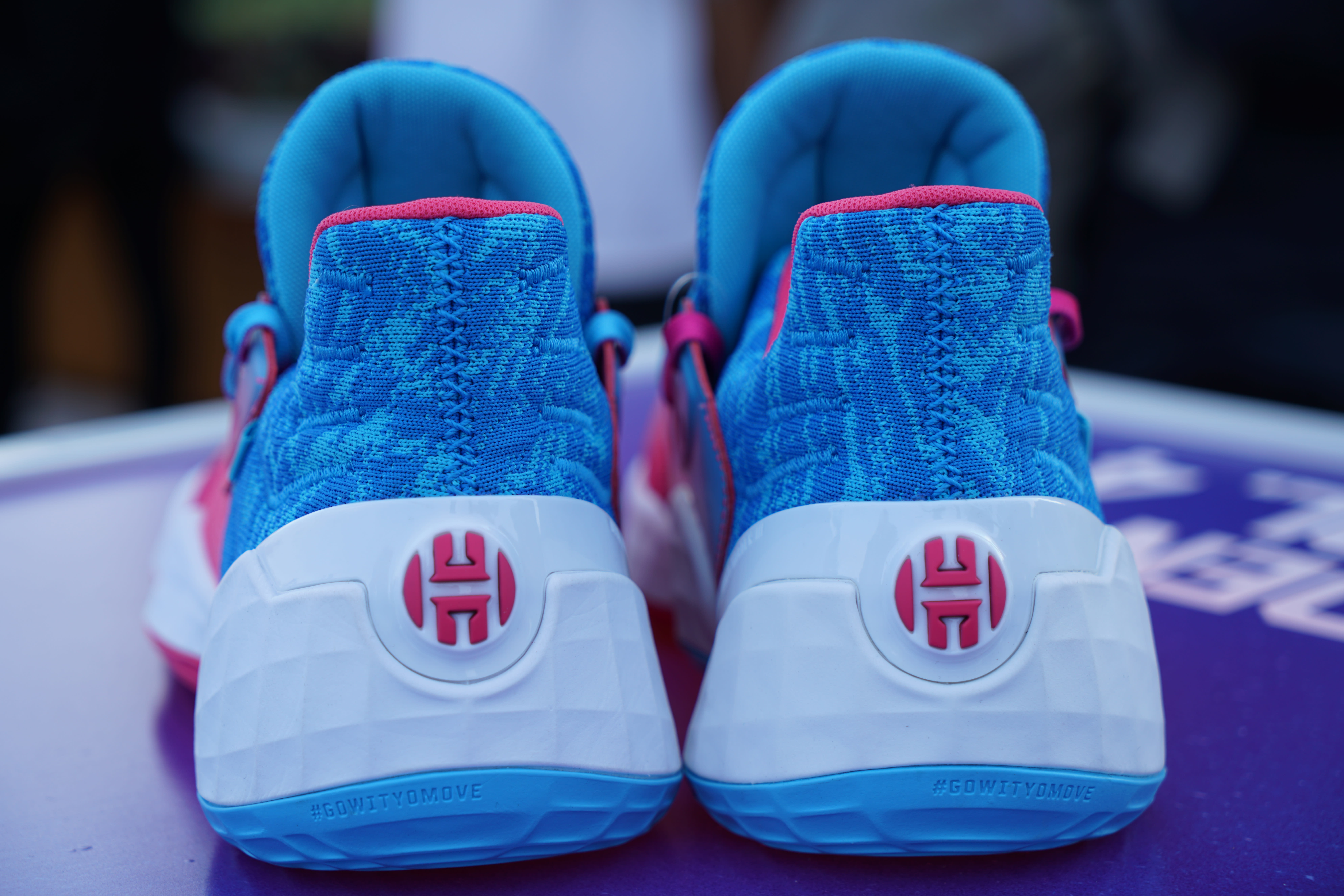 Adidas Harden Vol. 4 'Candy Paint' (Heel)