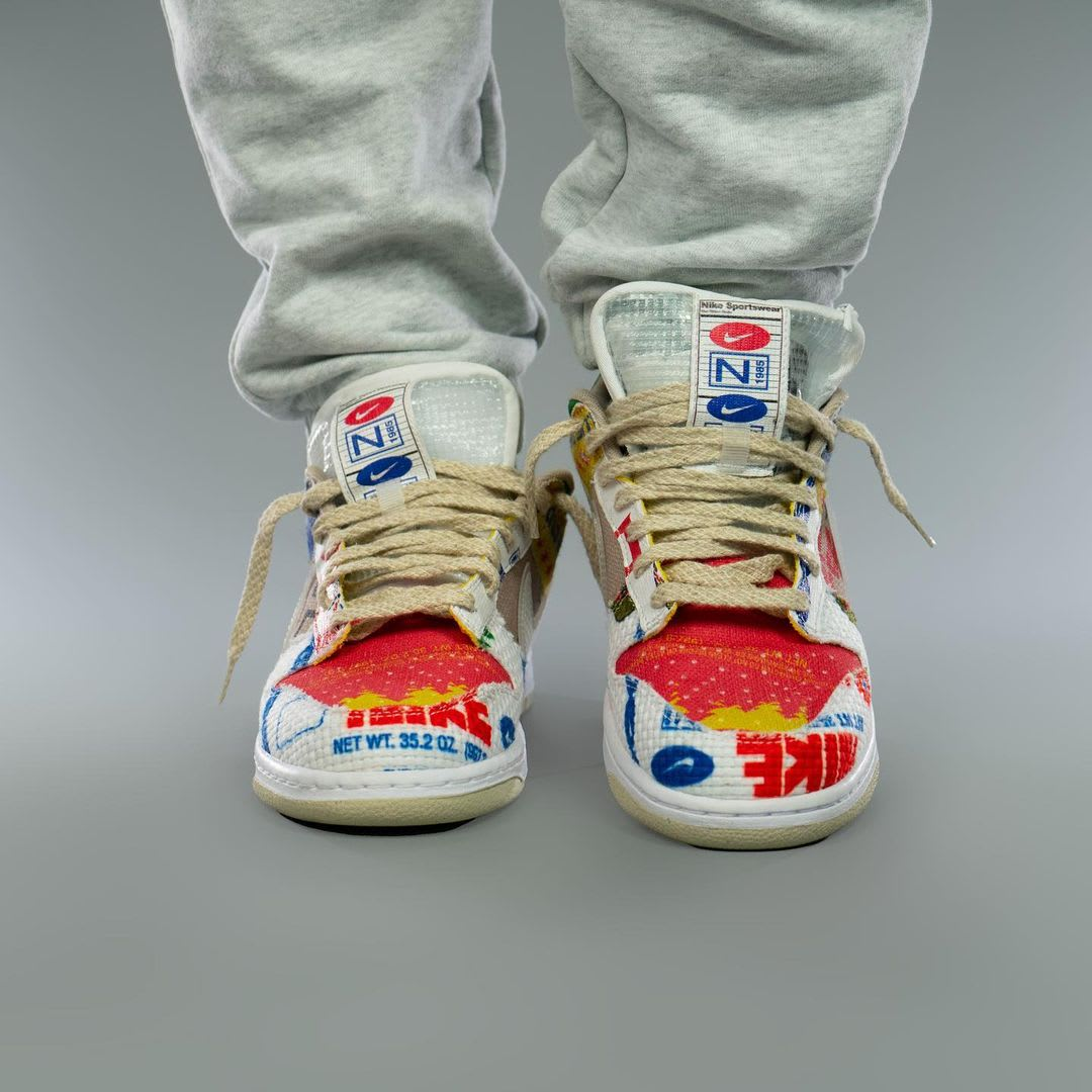 Nike Dunk Low Thank You For Caring Release Date DA6125-900 Front