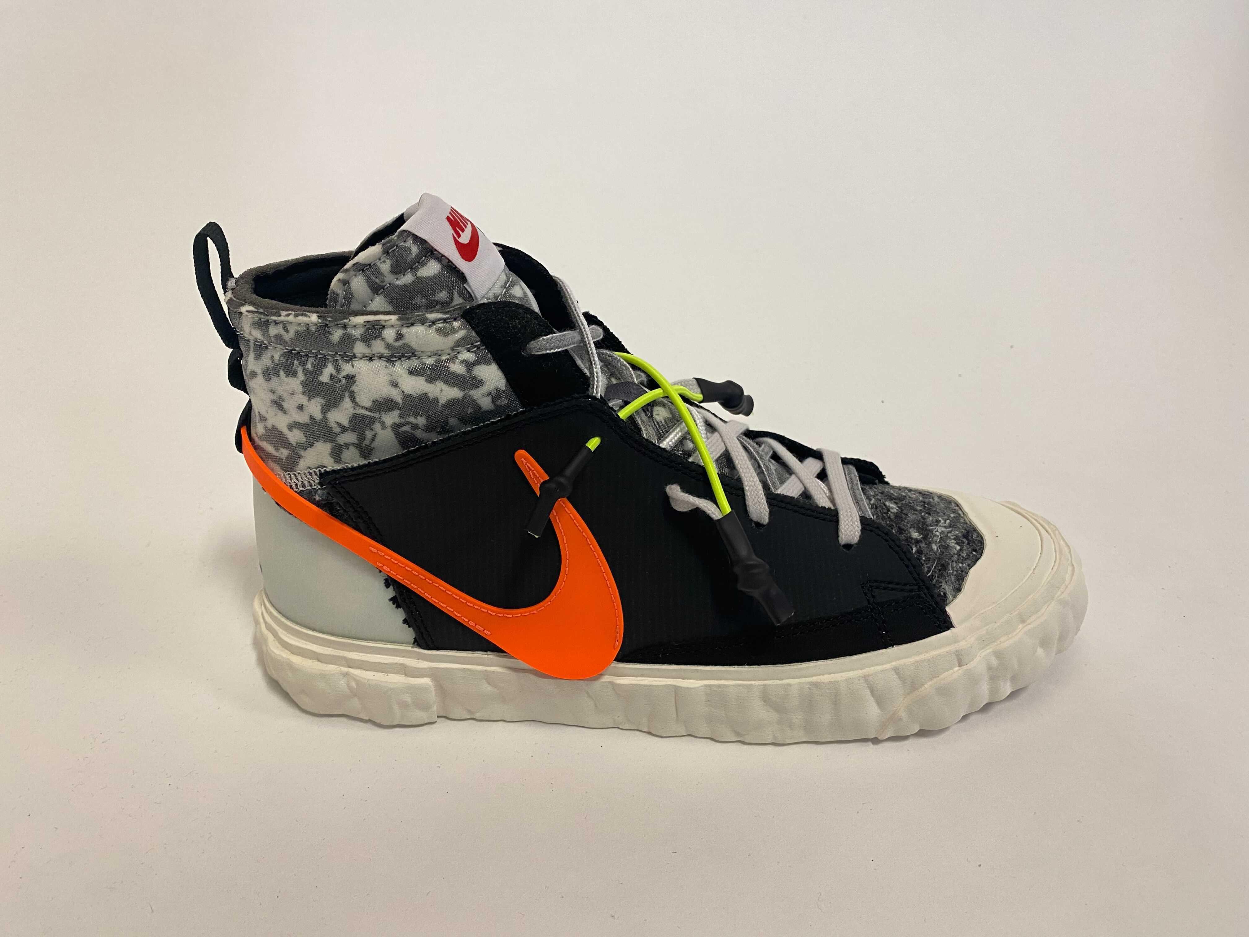 Readymade x Nike Blazer Mid 'Black' CZ3589-001 (Lateral)