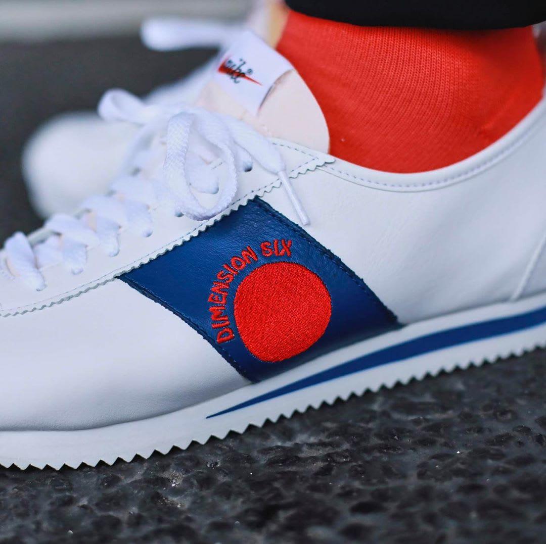 ffaaccbb2dd Image via @atmos_tokyo · Shoe Dog x Nike Cortez '72 'Dimension Six' (Detail)
