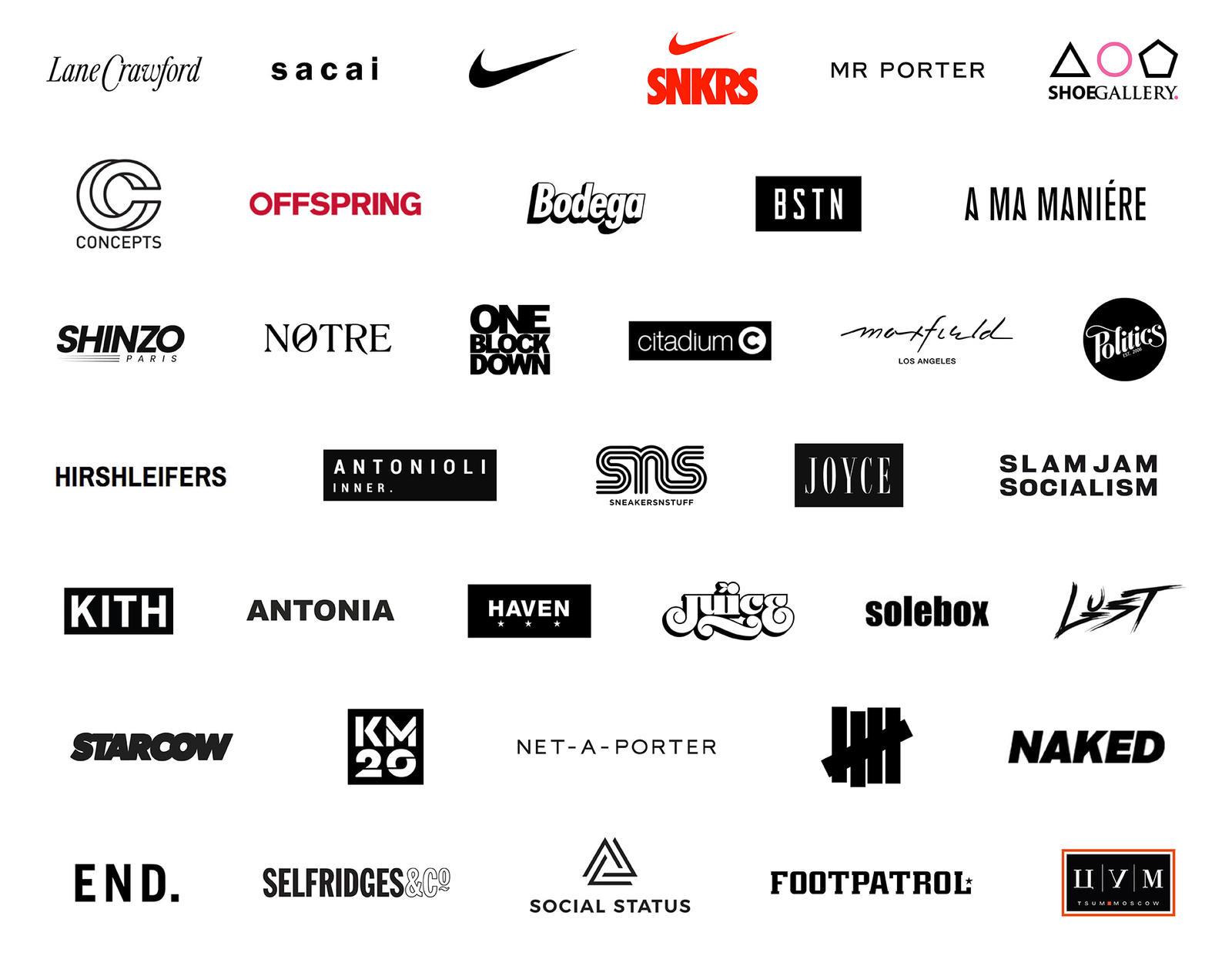 Sacai x Nike Stockists