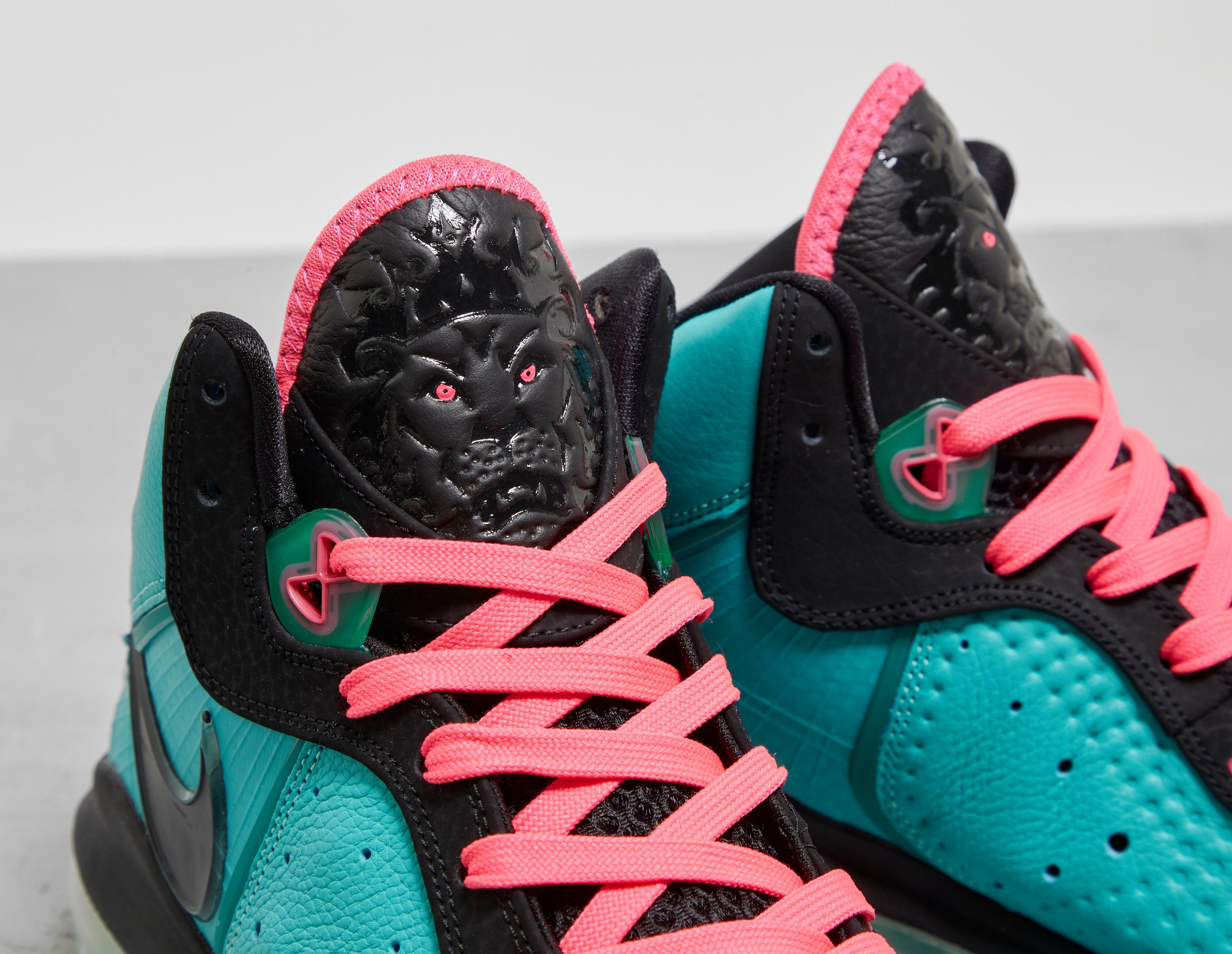 Nike LeBron 8 'South Beach' 2021 CZ0328-400 Tongue