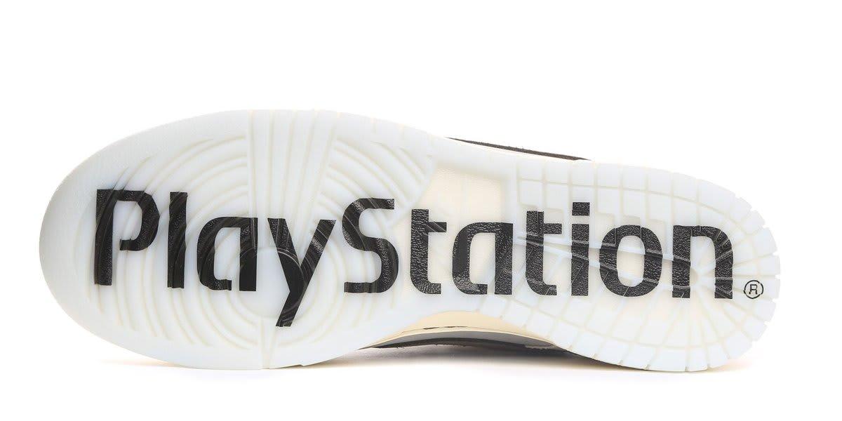 Travis Scott PlayStation x Nike Dunk Sole Left