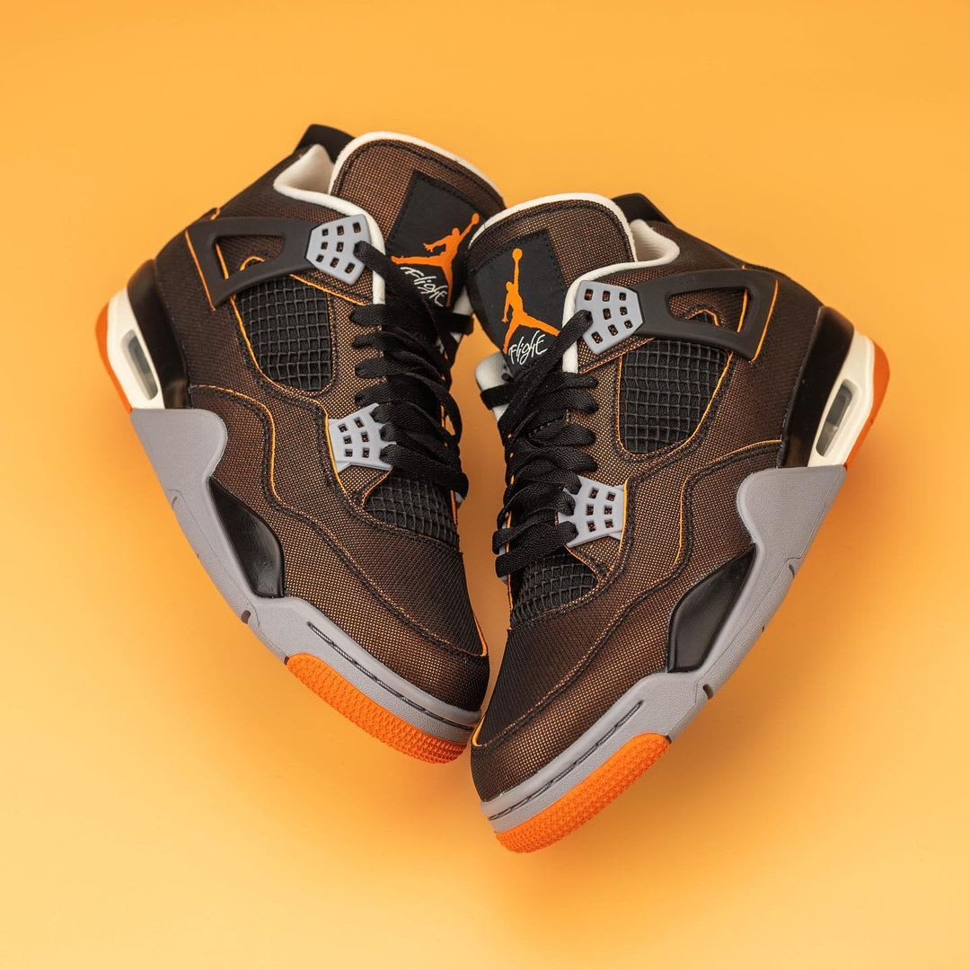 Air Jordan 4 IV Starfish Release Date CW7183-100 Top Side