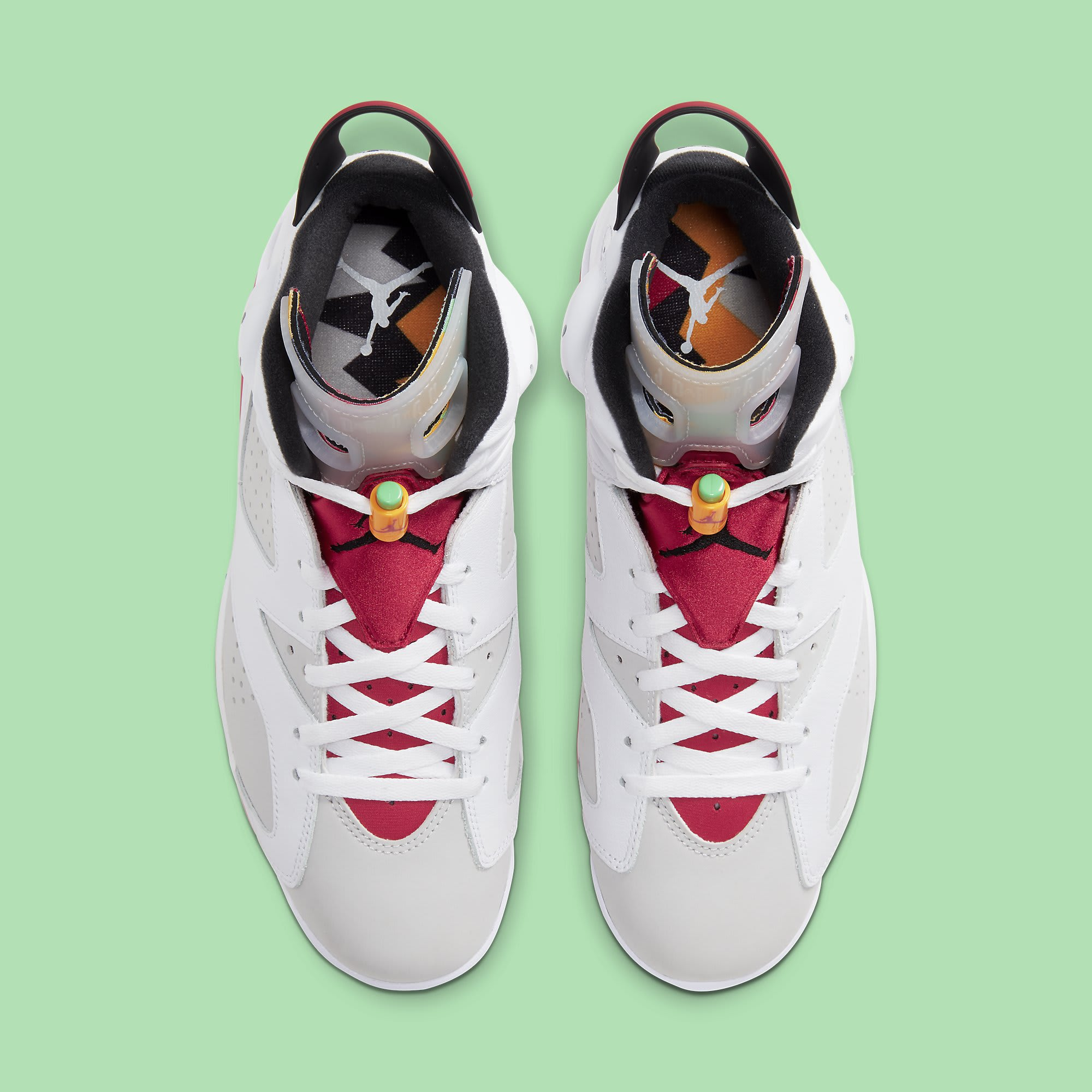 Air Jordan 6 Hare Release Date CT8529-062 Top