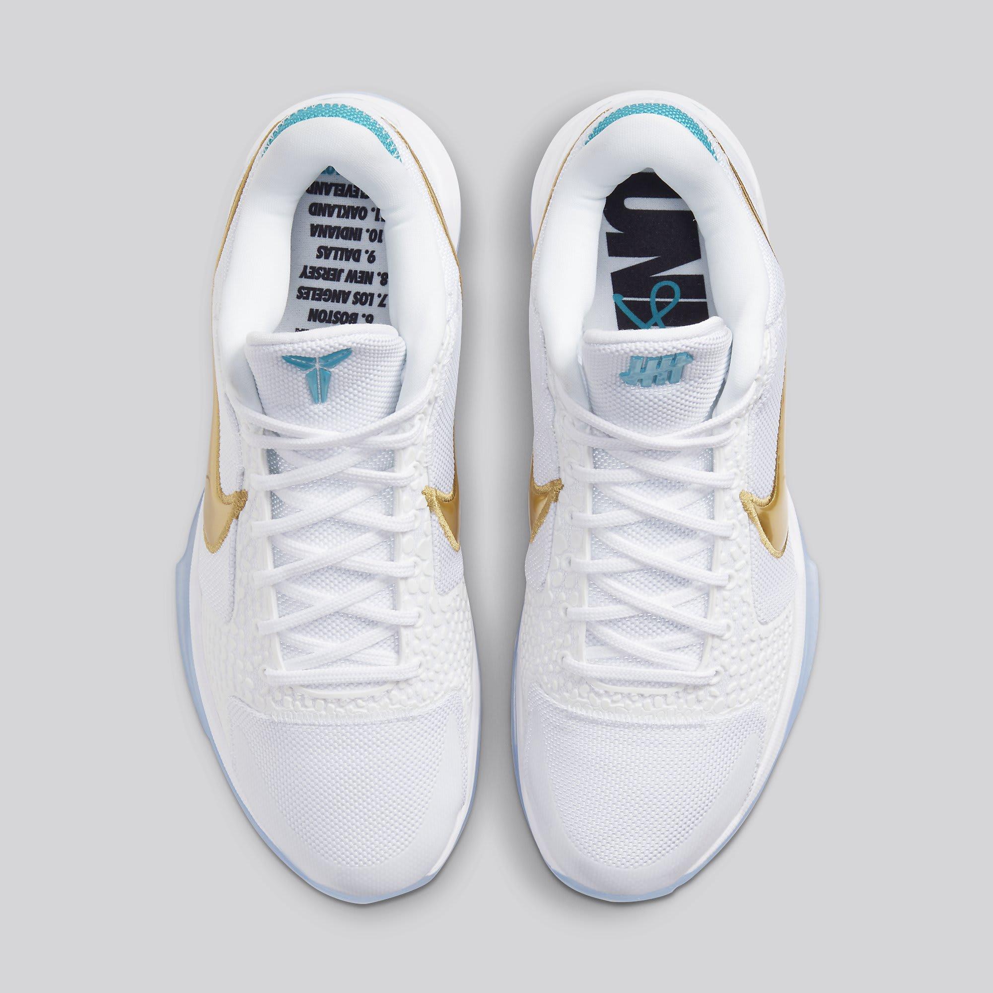 Undefeated x Nike Kobe 5 Protro 'Unlucky 13' DB5551-900 Top