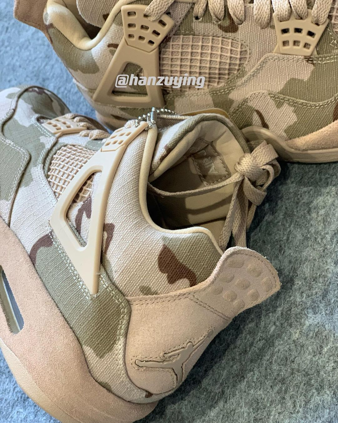 Aleali May x Air Jordan 4 Heel