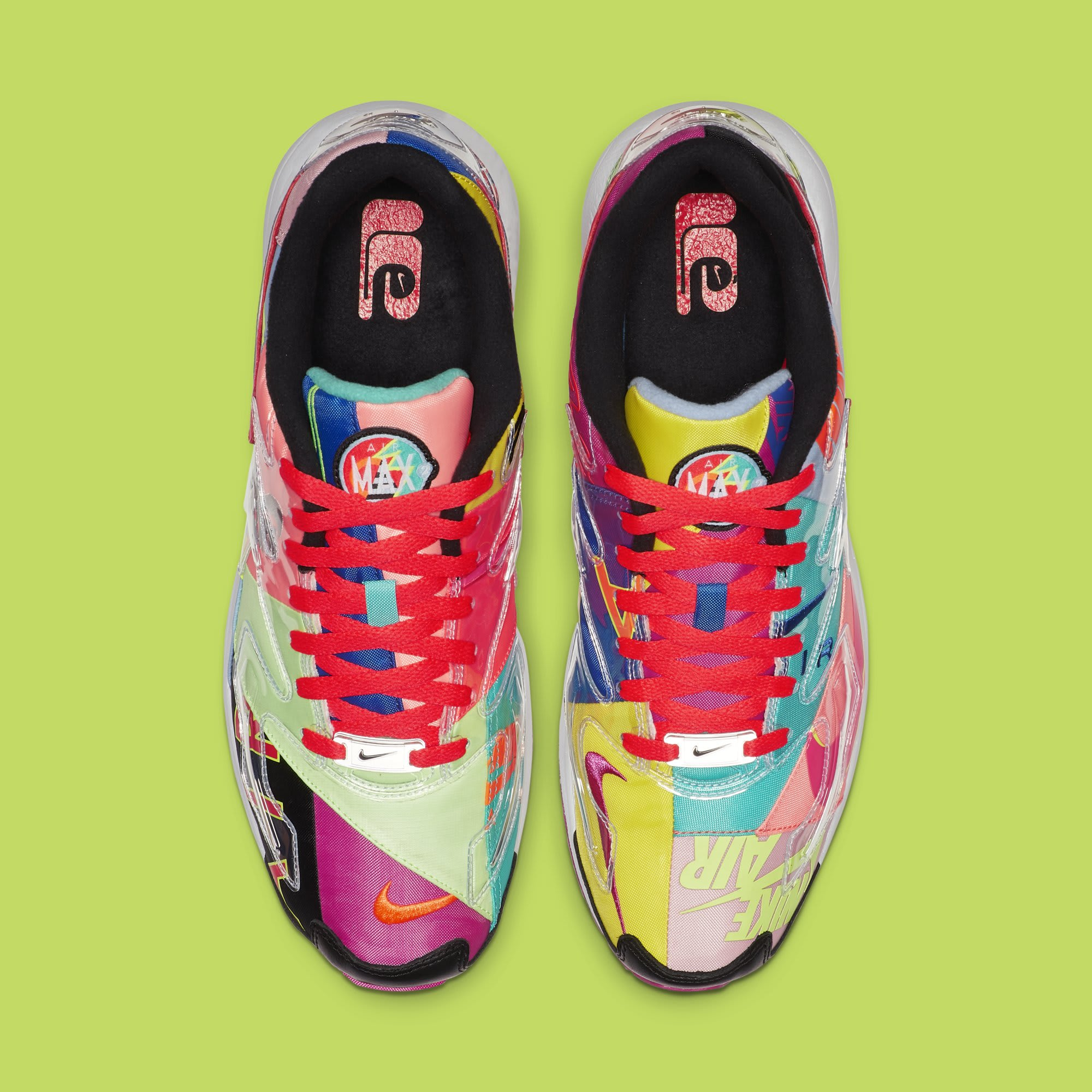 Atmos x Nike Air Max2 Light BV7406-001 (Top)