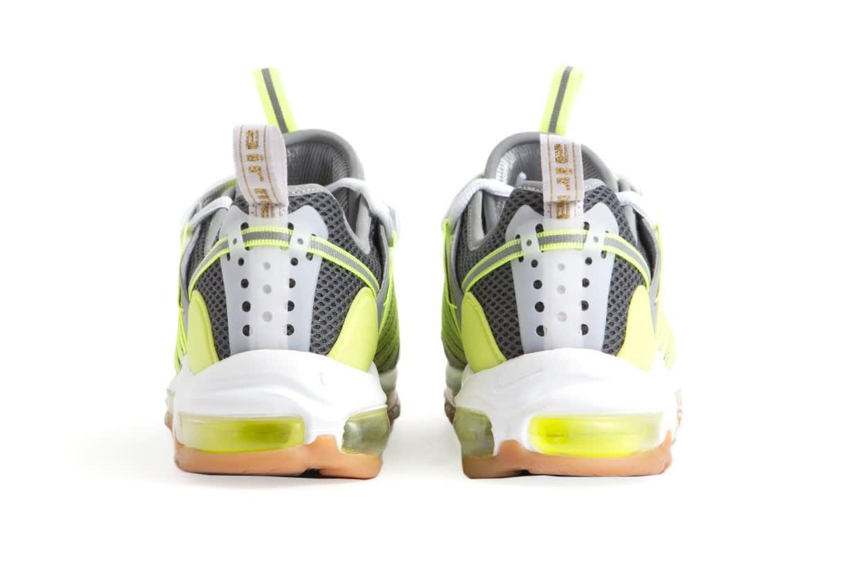 Clot x Nike Zoom Haven 97 'Volt/Dark Grey/Pure Platinum' (Heel)