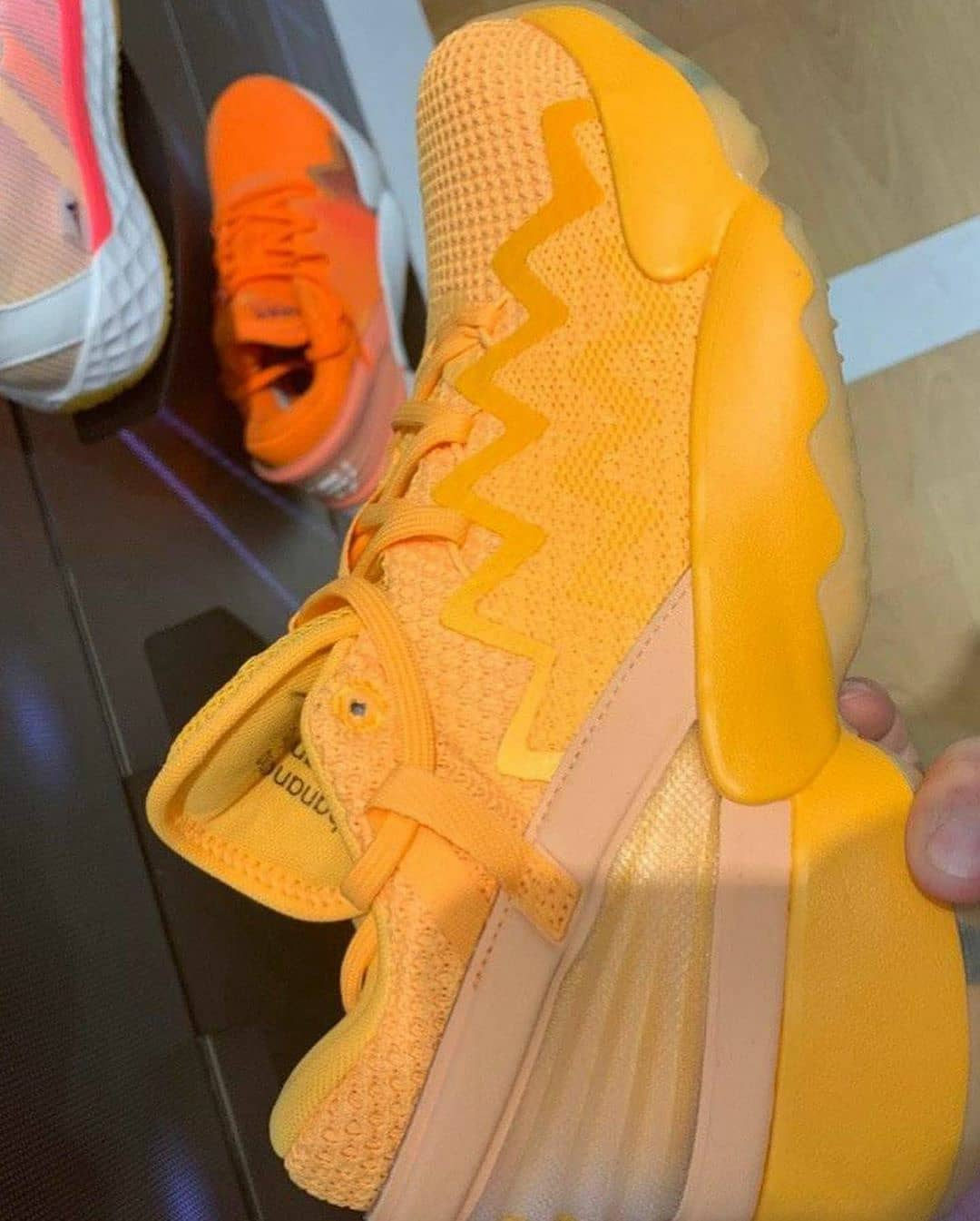 Adidas DON Issue 2 Yellow Lateral