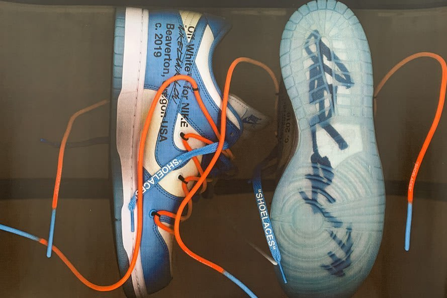 Off-White x Futura x Nike Dunk Low (UNC)
