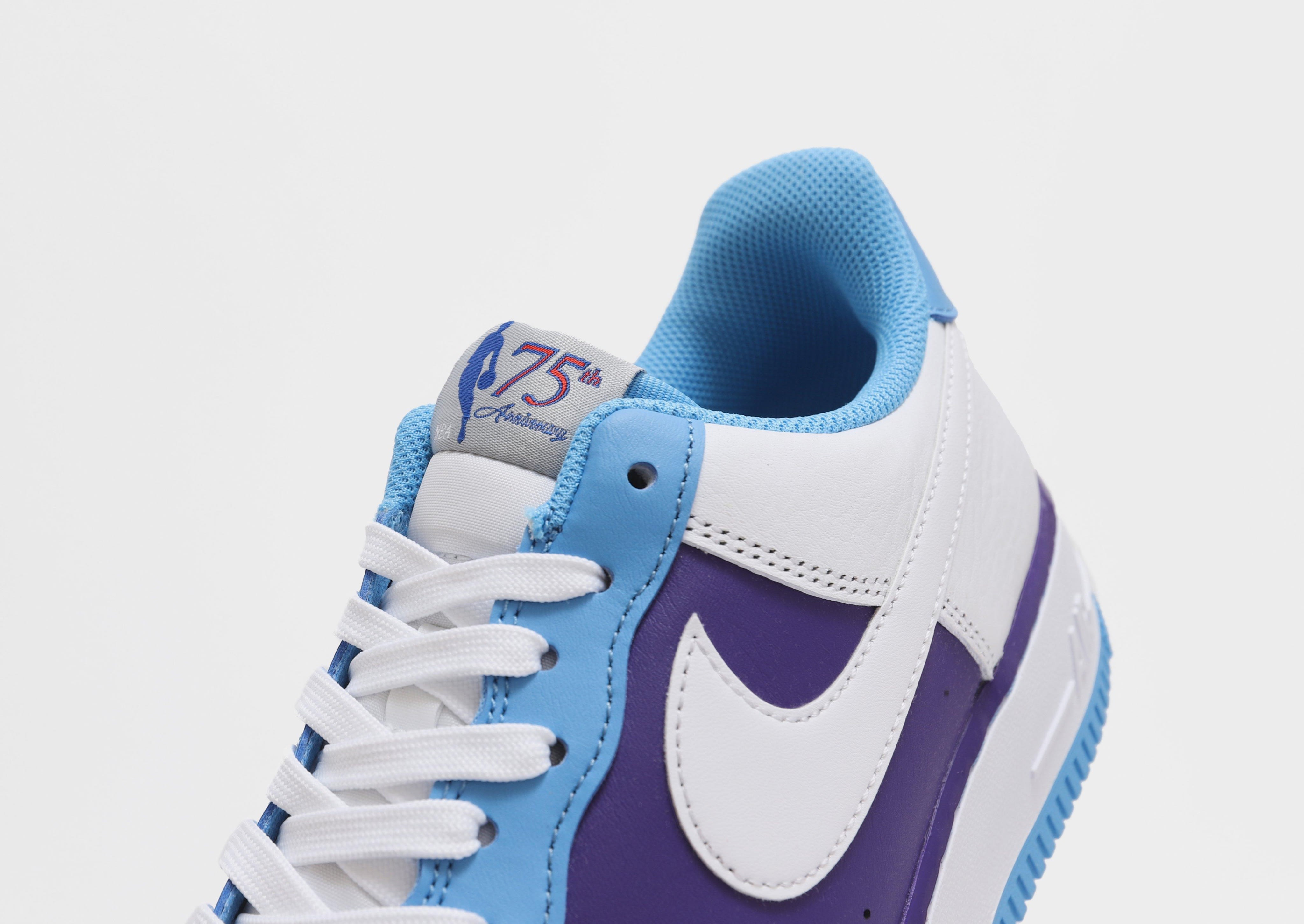 Nike Air Force 1 Low Lakers MPLS Release Date Tongue