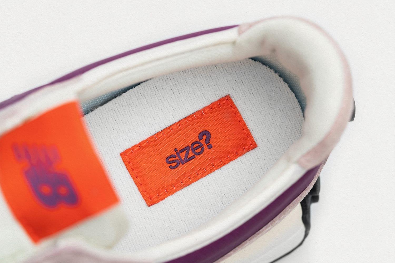 size? x New Balance 327 'purple/grey/orange' Insole