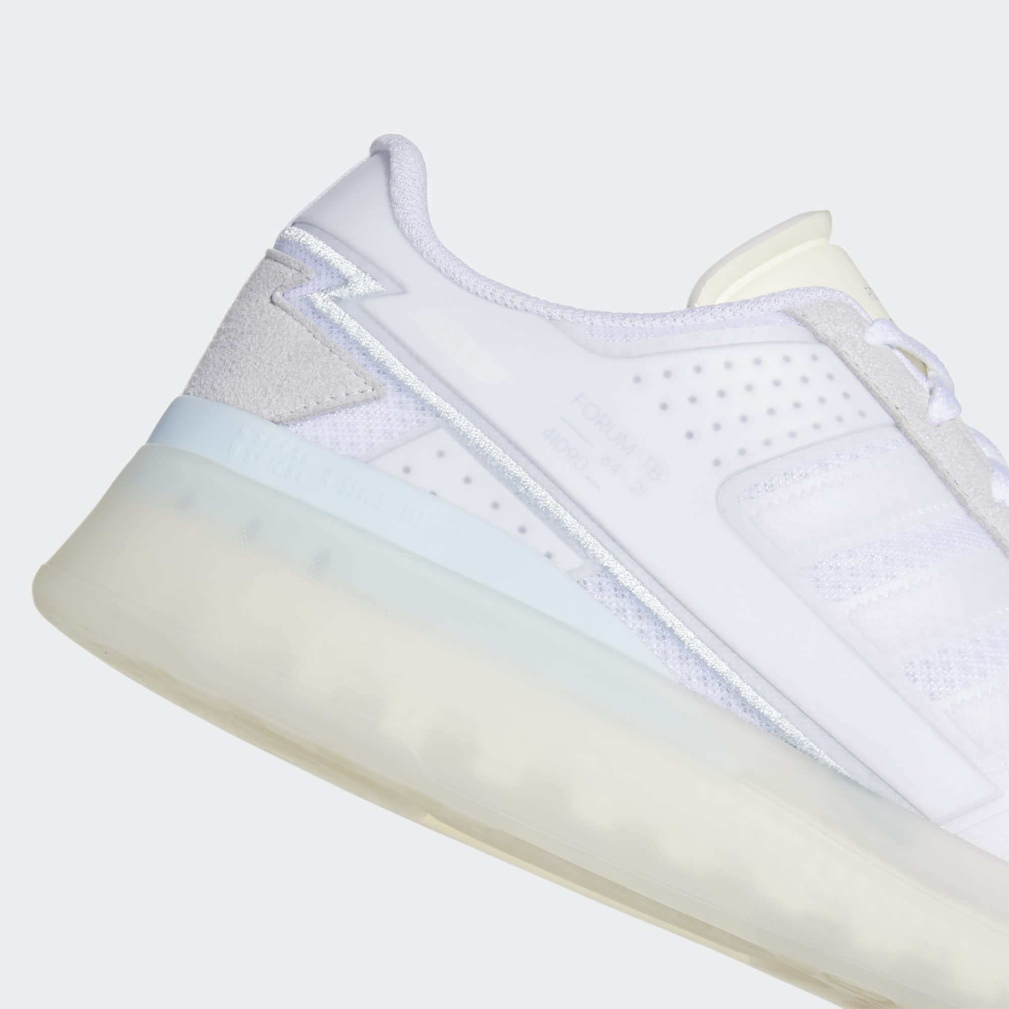Adidas Forum Low Tech Boost 'Cloud White' Q46357 Heel
