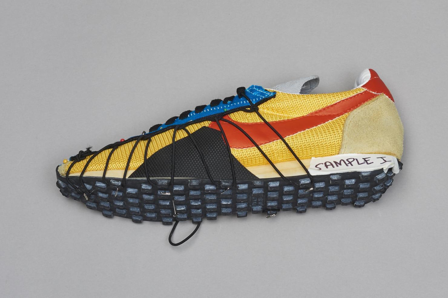 Off-White x Nike Waffle Racer Prototype 4