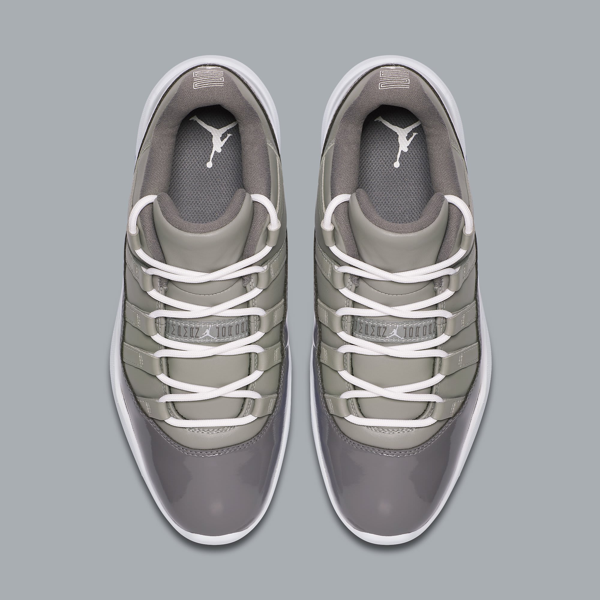 Air Jordan 11 Low Golf Cool Grey Release Date AQ0963-002 Top