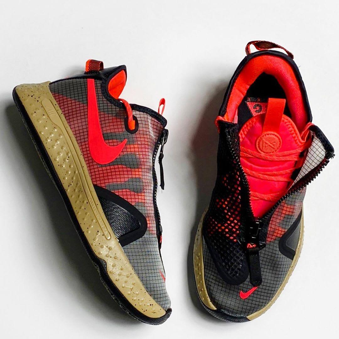 Nike PG 4 ACG PCG Release Date CZ2241-900 Pair