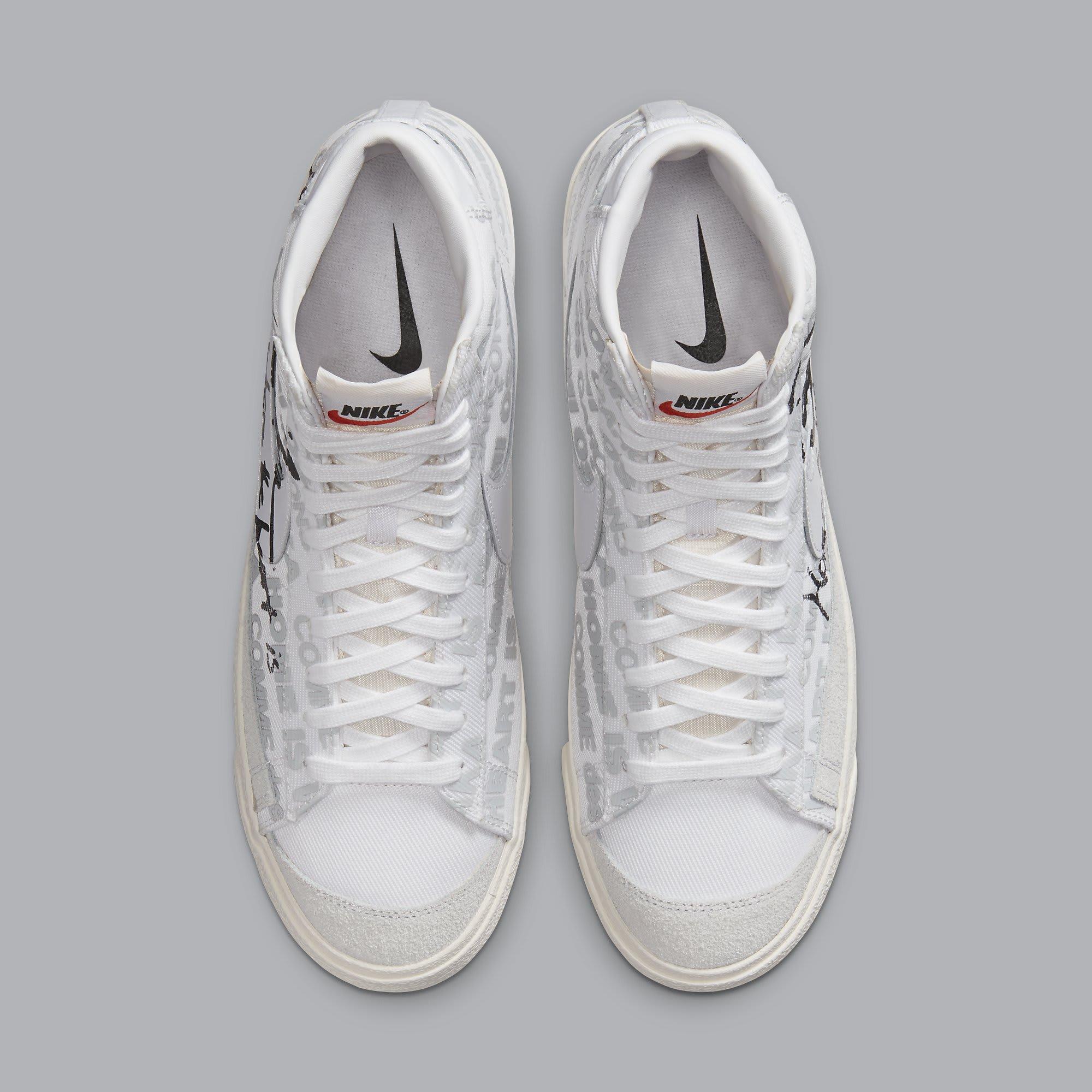 Comme des Garcons x Naomi Osaka x Nike Blazer Mid DA5383-100 Top
