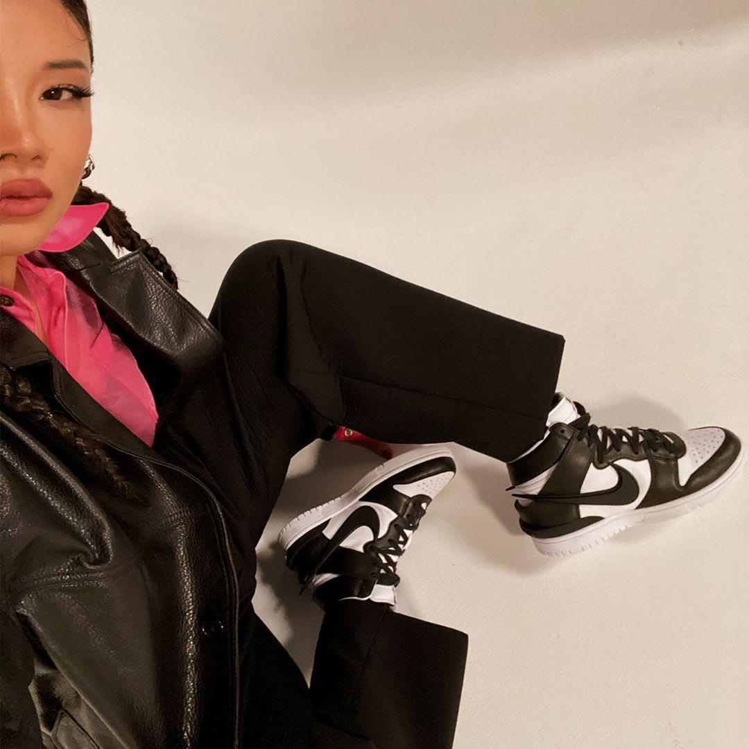 Yoon Ahn Ambush x Nike Dunk High On-Feet