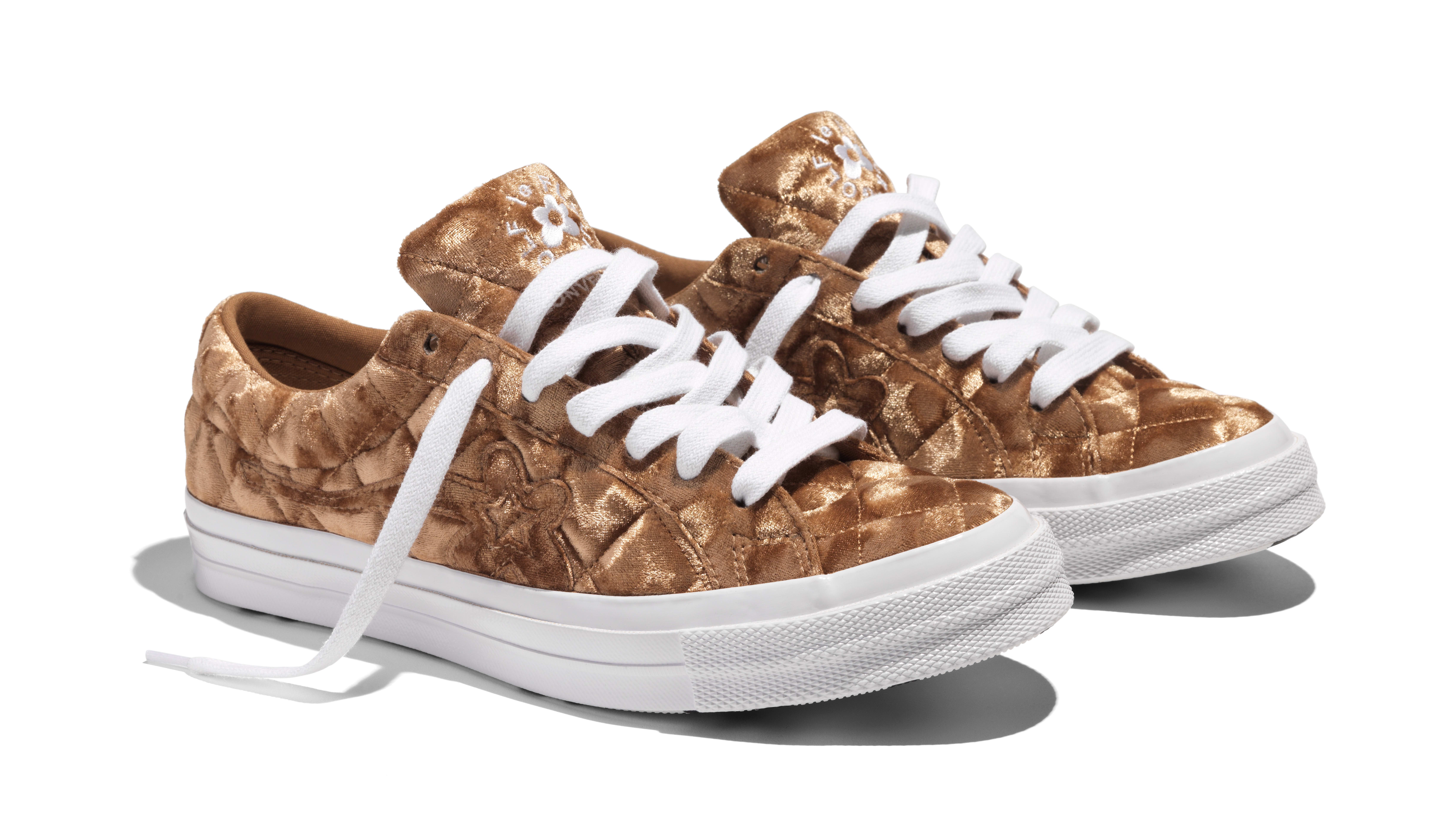 Tyler, the Creator x Converse Golf Le Fleur 'Quilted Velvet/Brown'