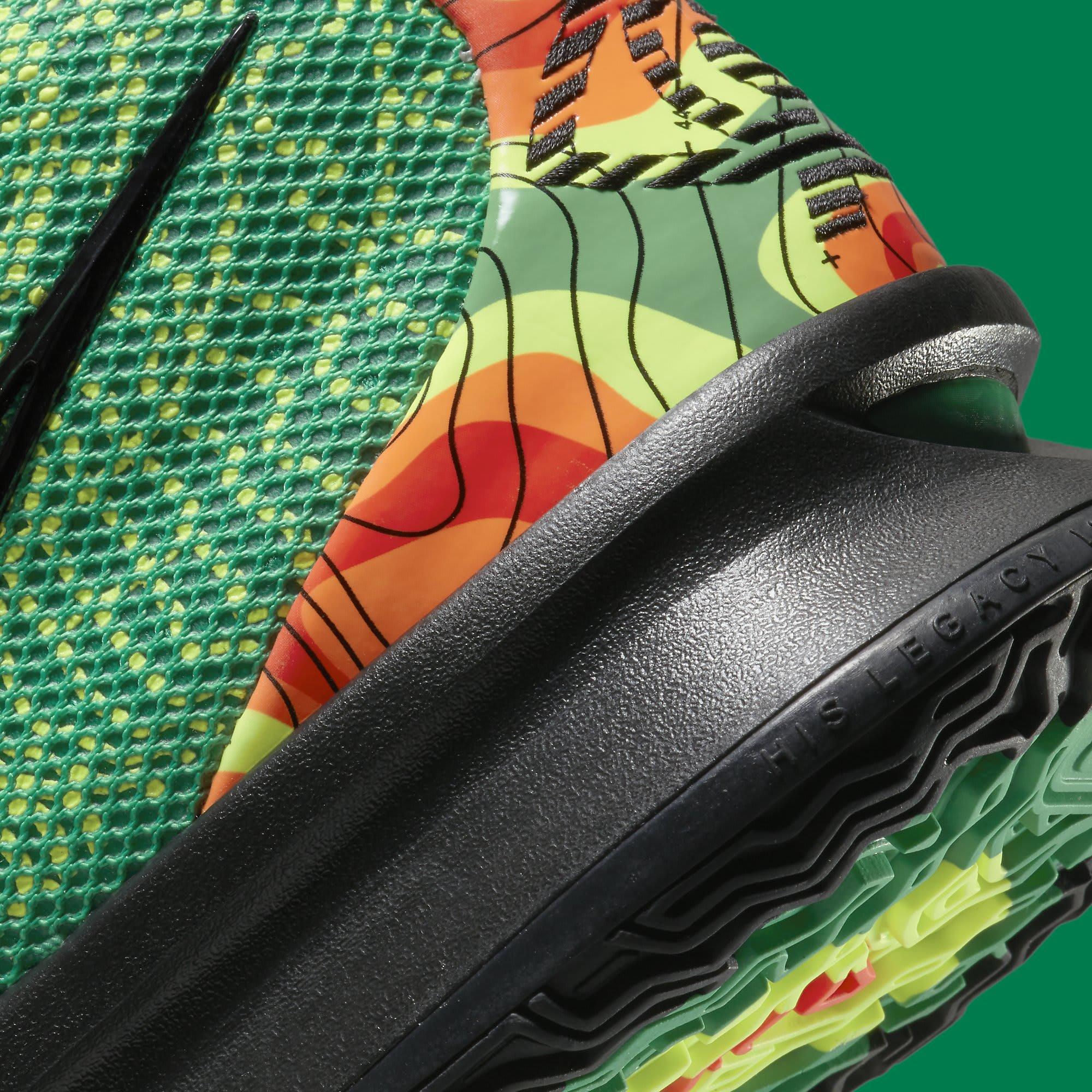 Nike Kyrie 7 'Weatherman' CQ9327-300 Heel