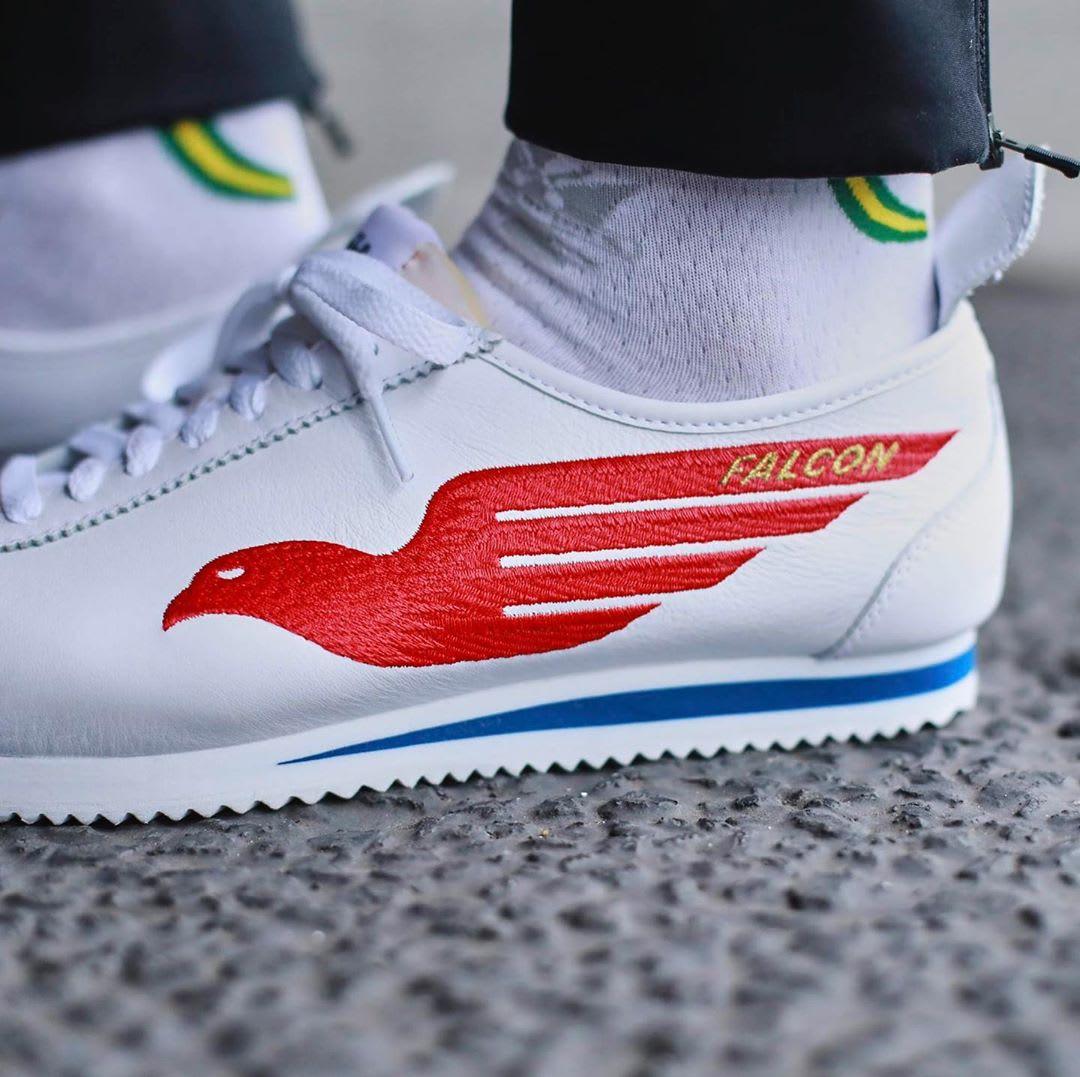 Shoe Dog x Nike Cortez '72 'Falcon' (Detail)