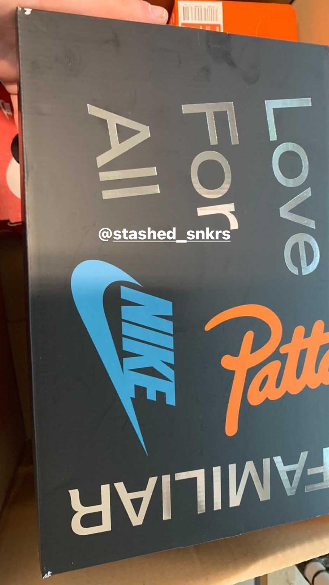 Patta x Nike Air Max 1 'Metallic Silver/Monarch/Platinum' (Box)
