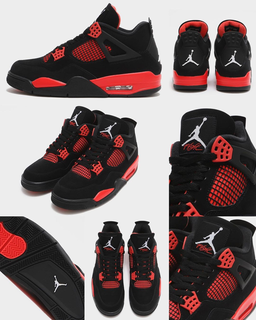 Air Jordan 4 Retro 'Red Thunder' CT8527-016