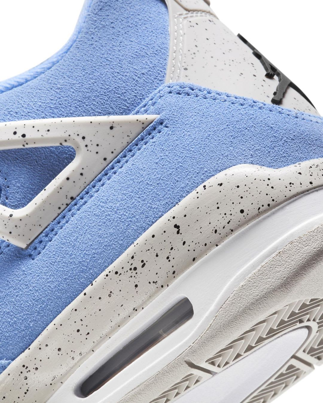 Air Jordan 4 Retro 'University Blue' CT8527-400 Heel