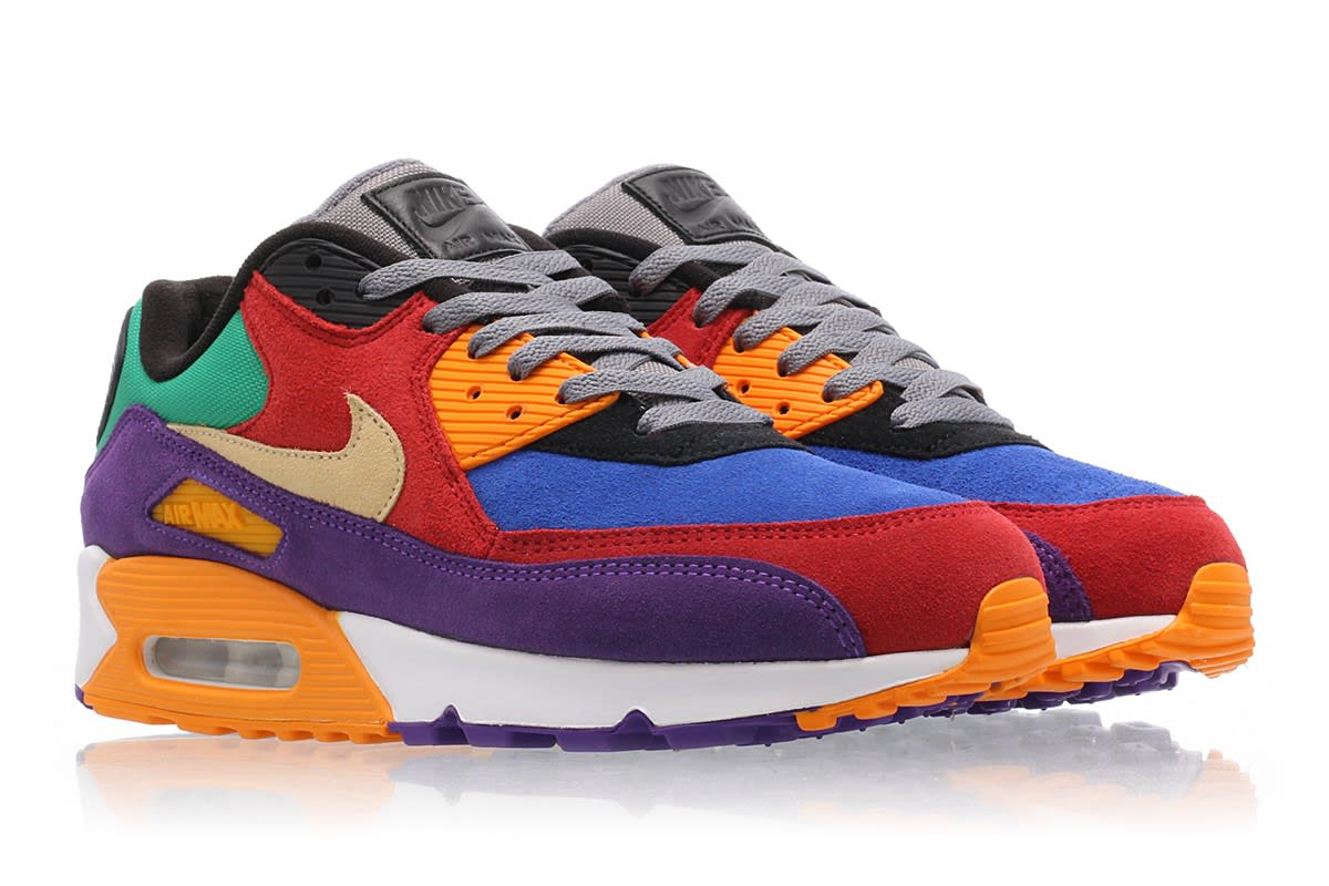fast delivery latest fashion online retailer Nike Air Max 90 'Viotech' University Red/Pale Vanilla/Hyper ...