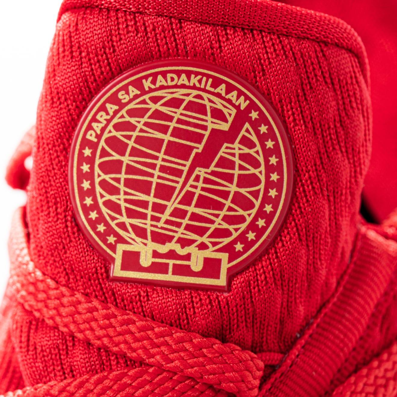 Titan x Nike LeBron 17 Low CD5008-600 (Tongue)