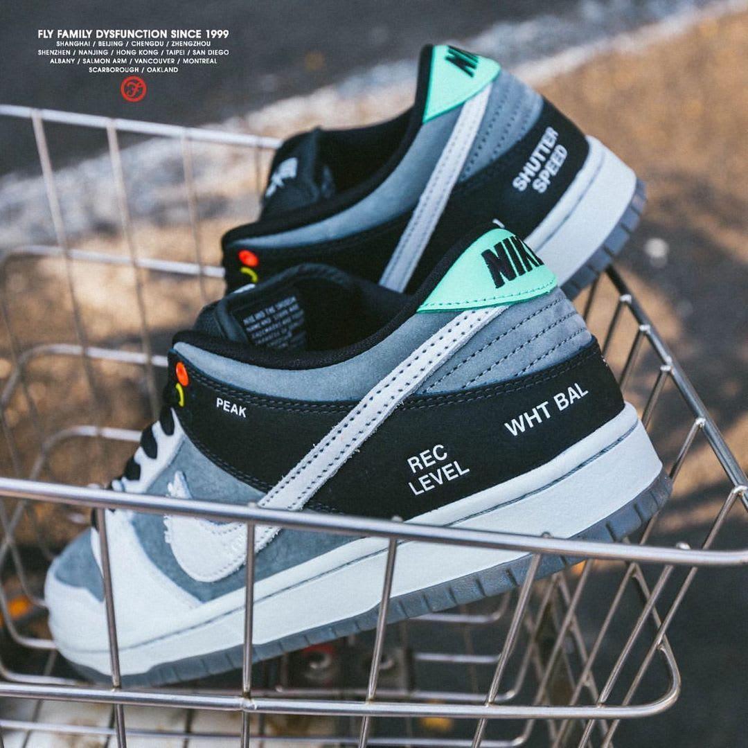 Nike SB Dunk Low 'VX1000' Heel