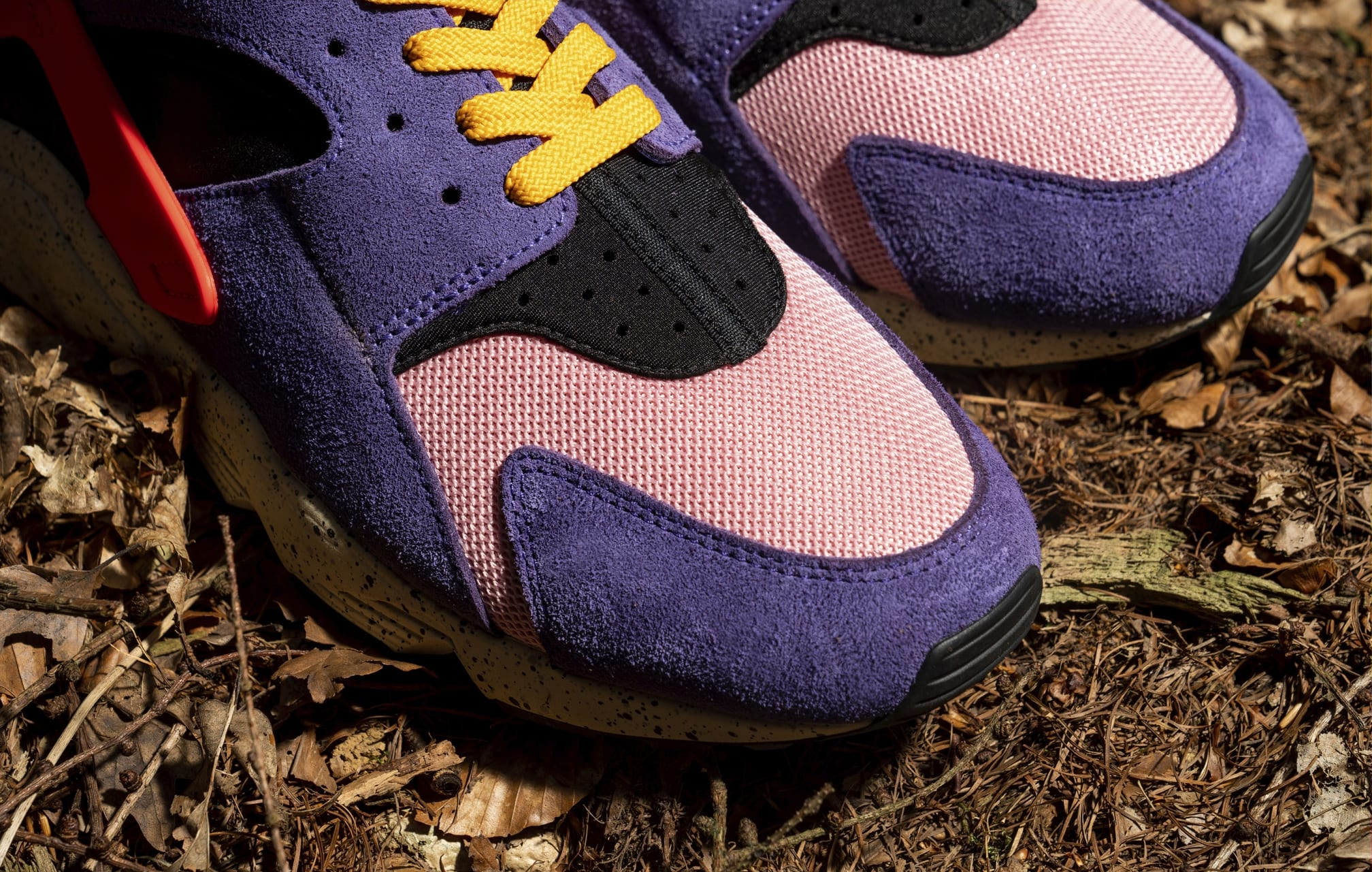 Size? x Nike Air Huarache DM9093-500 Toebox