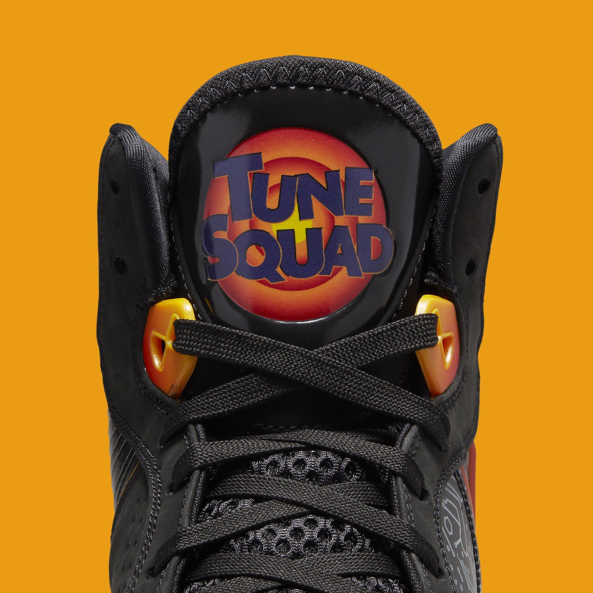 Nike LeBron 8 'Space Jam' DB1732-001 Tongue
