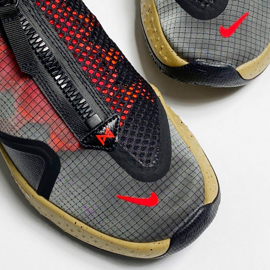 Nike PG 4 ACG PCG Release Date CZ2241-900 Toe