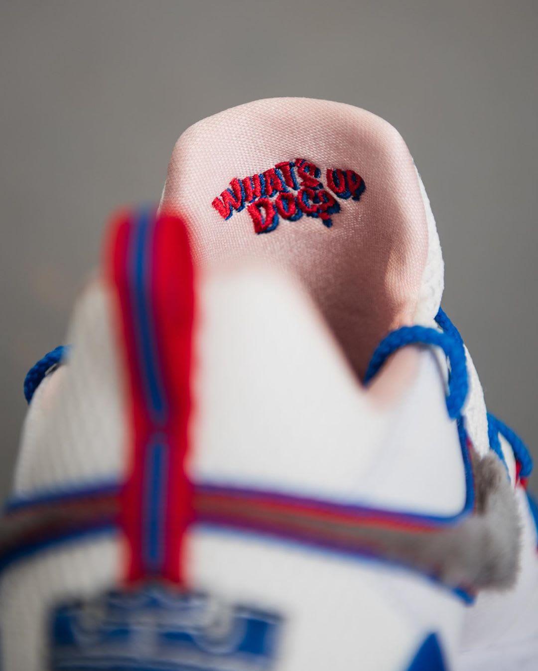 Nike LeBron 17 Low 'Toon Squad' CD5007-100 (Tongue)