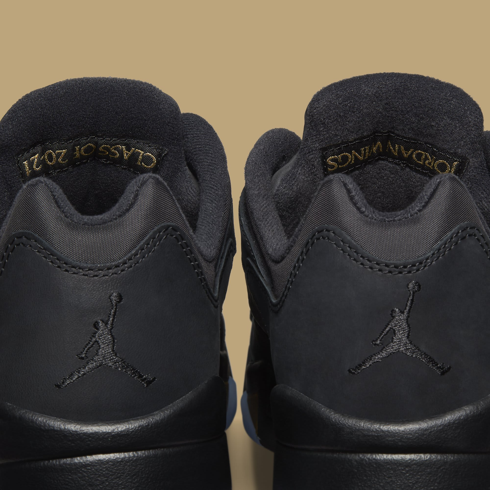 Air Jordan 5 Retro Low Wings 'Class of 2020-21' DJ1094-001 Heel