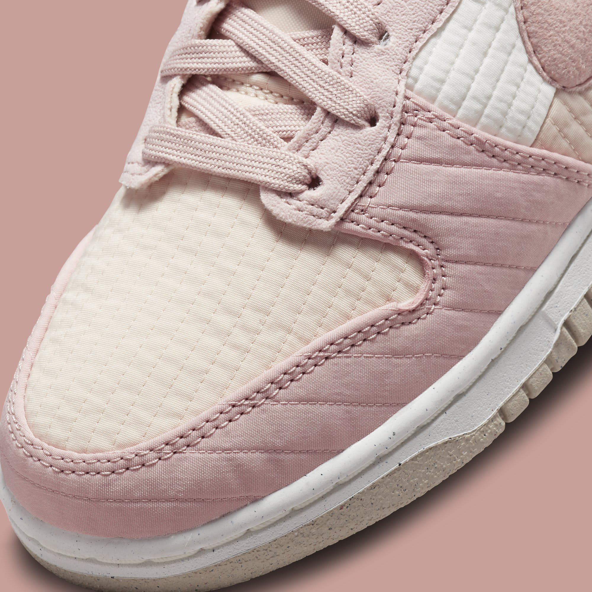 Nike Dunk High Toasty Pink DN9909-200 Release Date Toe Detail