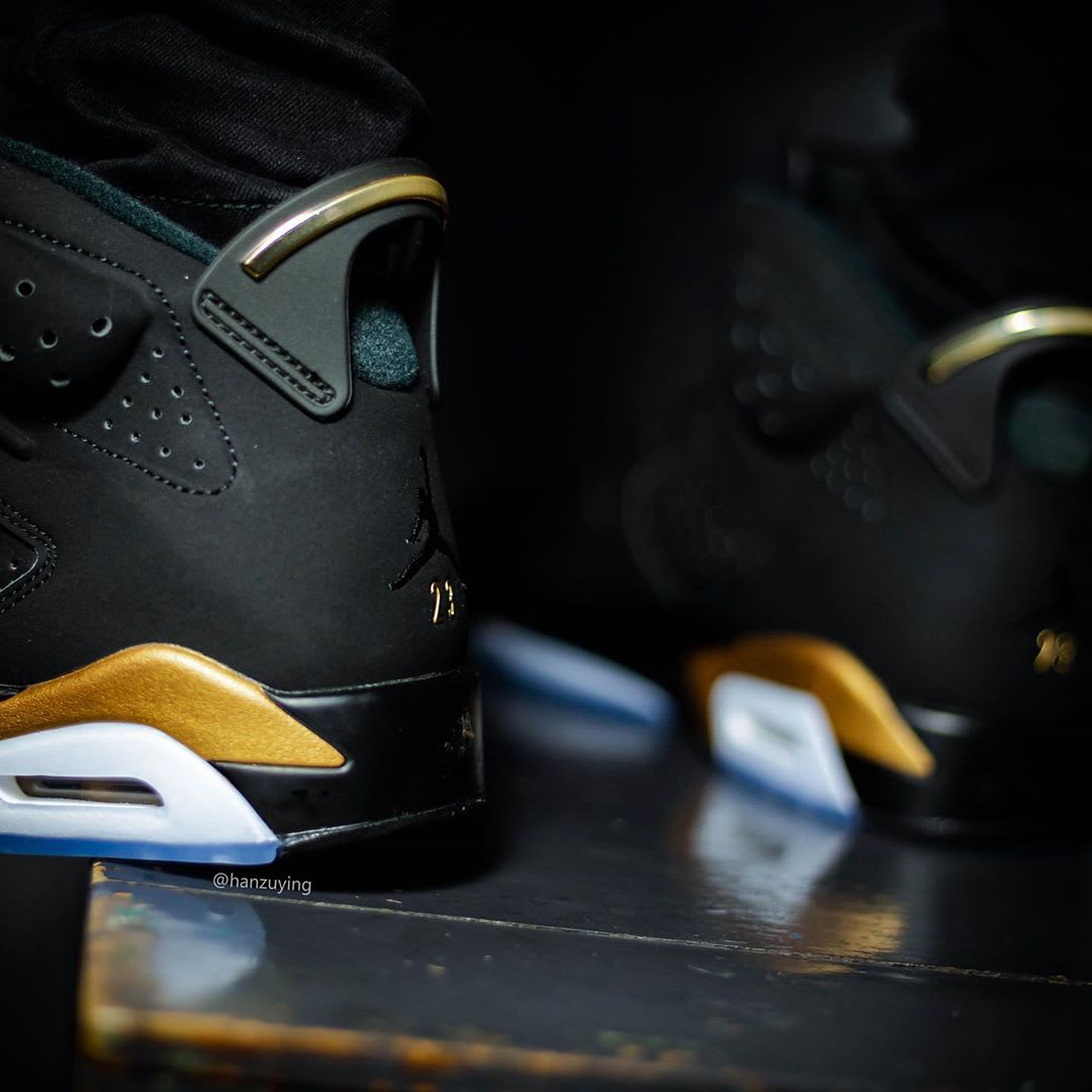 Air Jordan 6 DMP Release Date CT4594-007 On-Foot Heel
