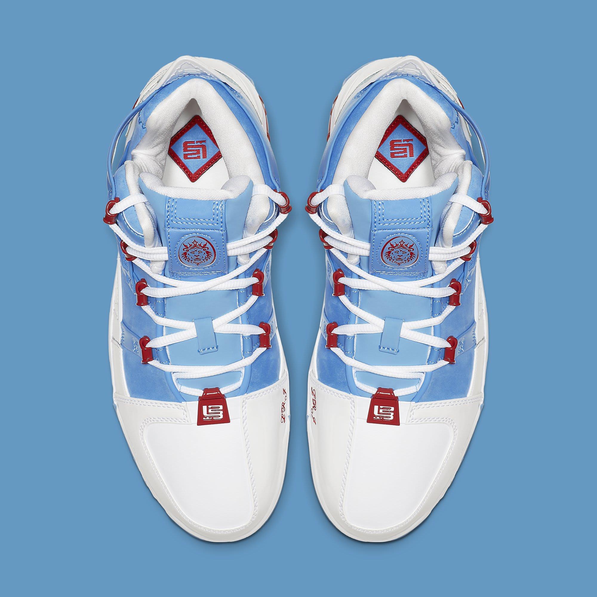 Nike Zoom LeBron 3 QS 'Houston All-Star' AO2434-400 Top