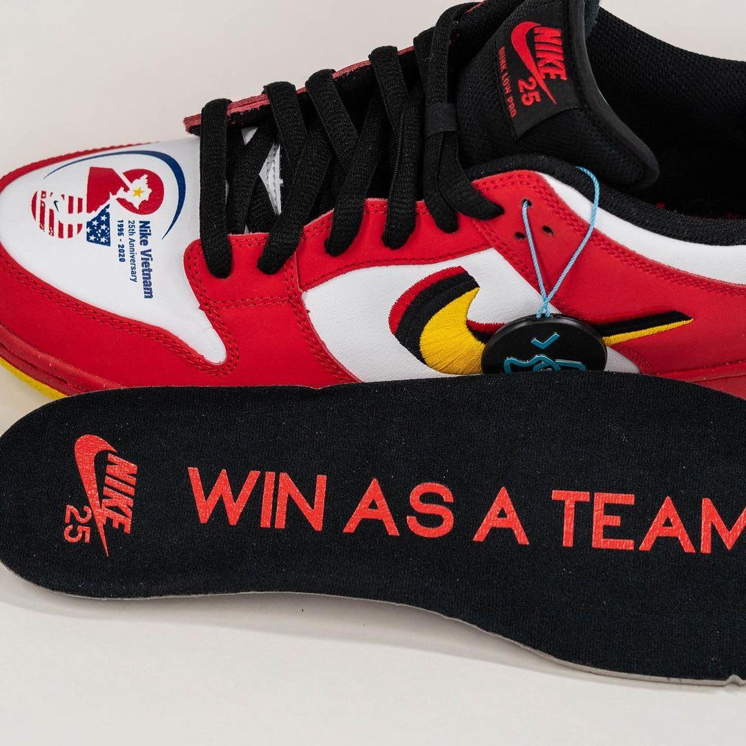 Nike SB Dunk Low 'Vietnam' Insole