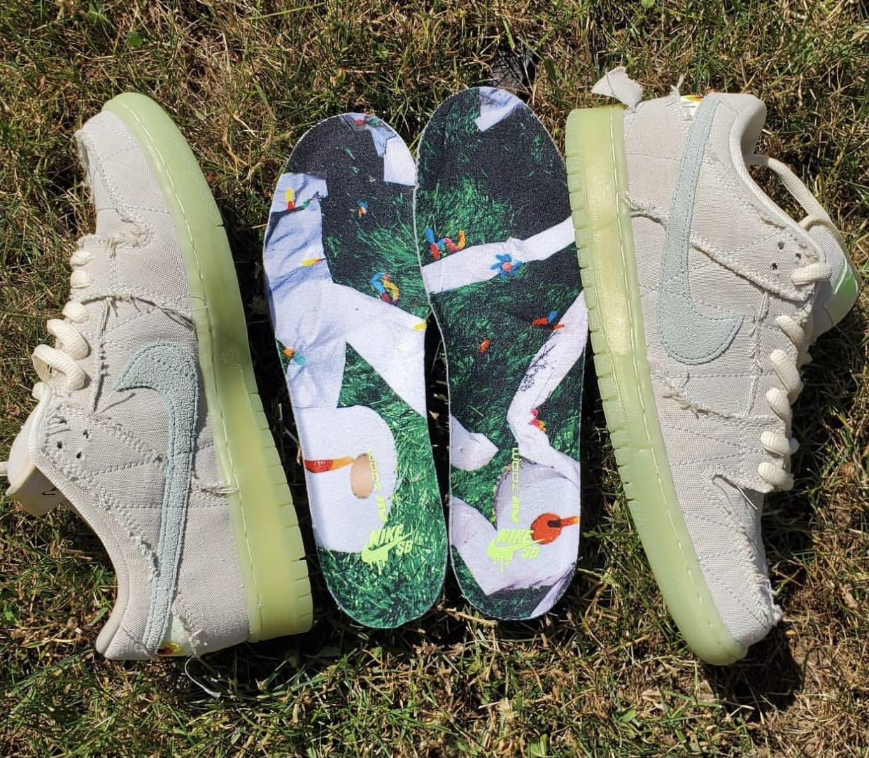 Nike SB Dunk Low Mummy Halloween DM0774-111 Insoles
